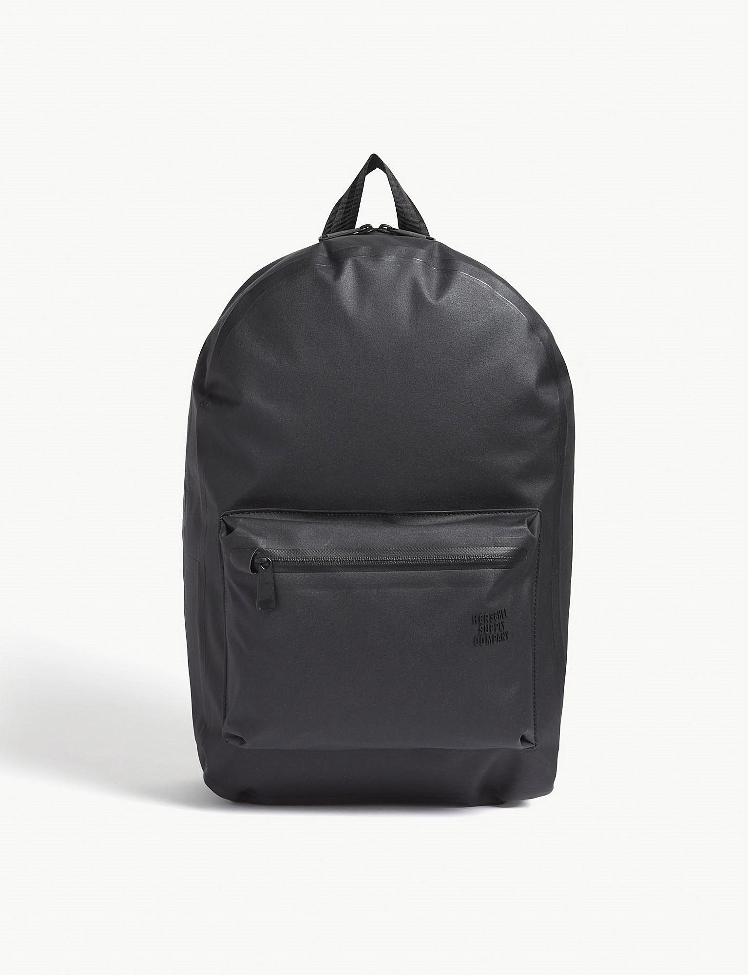 c61835b91c Herschel Supply Co. . Black Settlement Backpack in Black for Men - Lyst