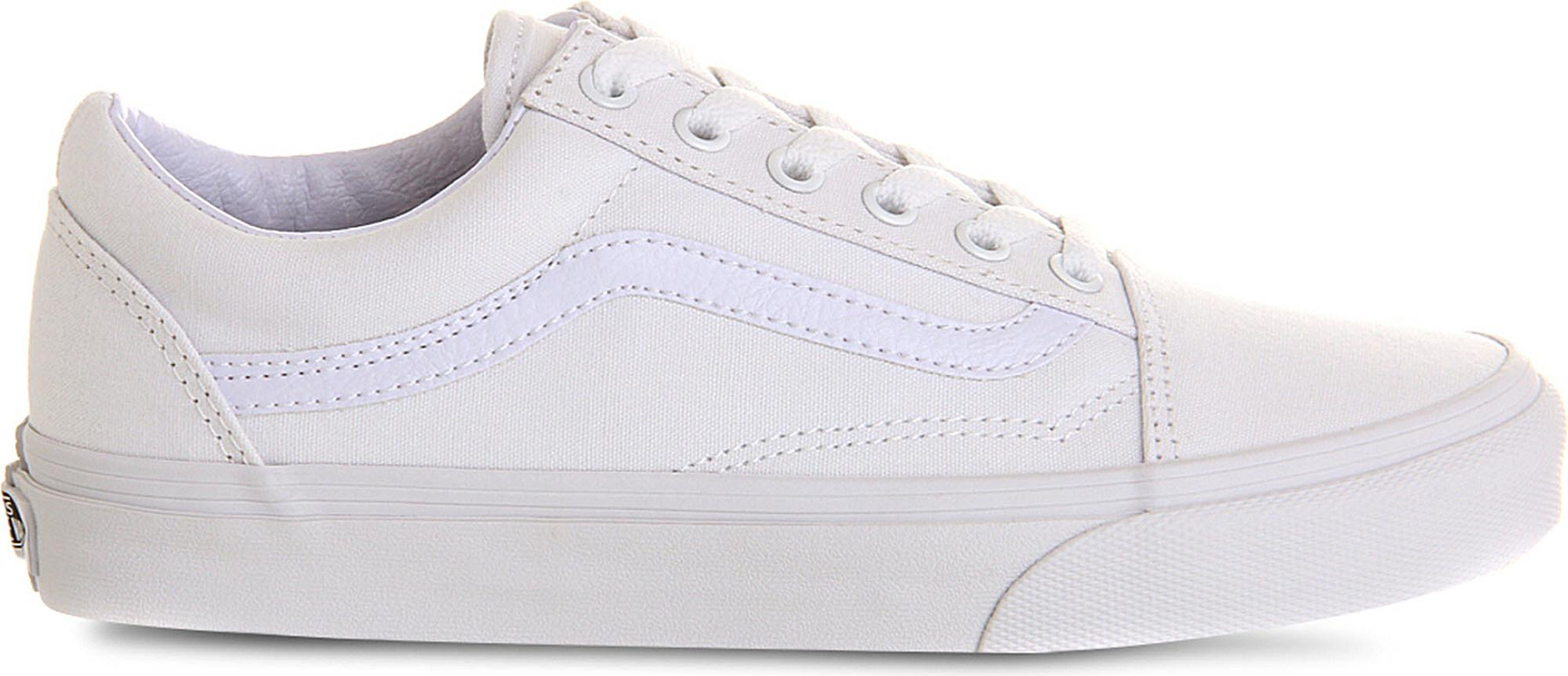 8e6244c37c Vans Old Skool Trainers in White for Men - Save 20% - Lyst
