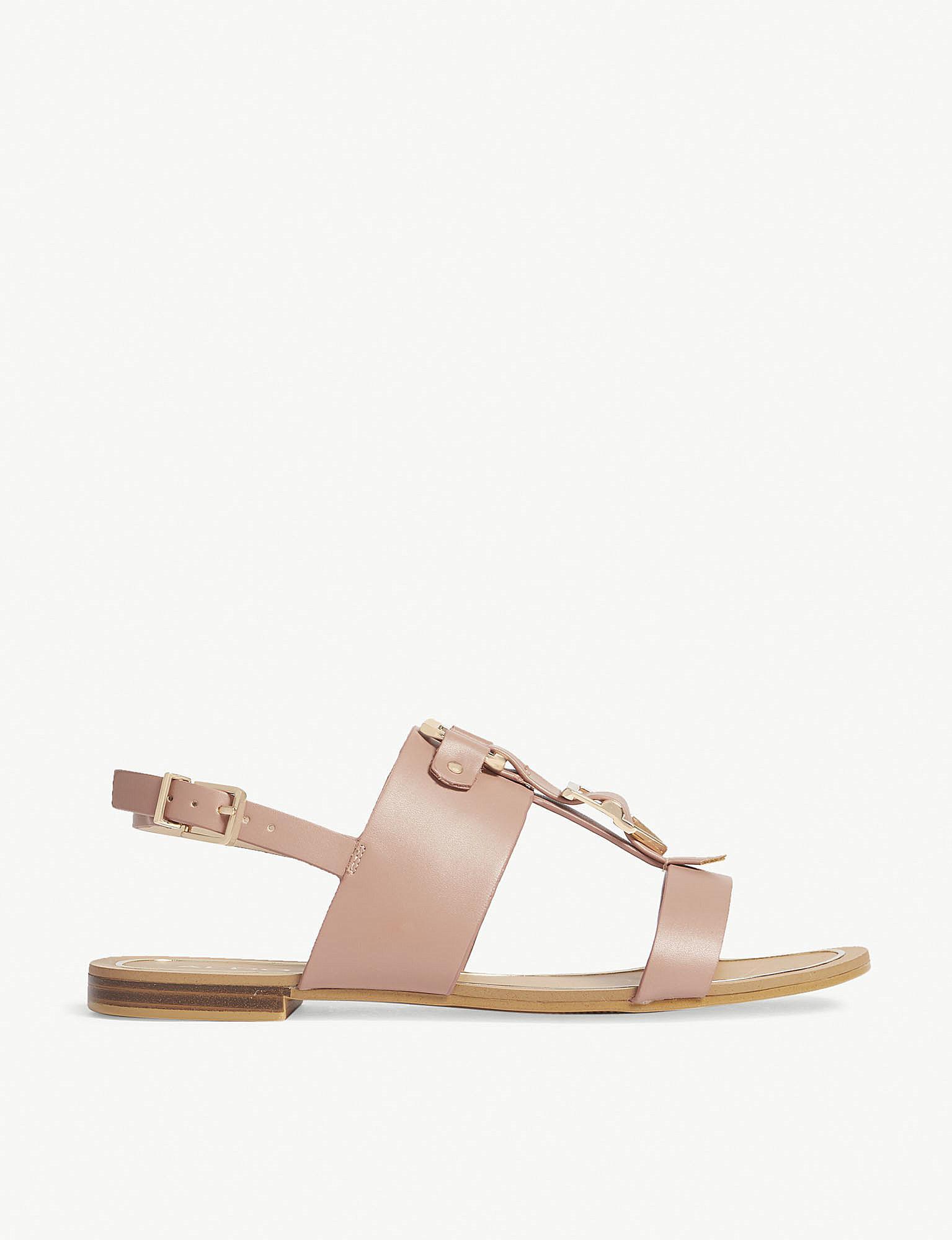 19a78cc64f65 Lyst - ALDO Afiarien Buckle Sandals in Pink