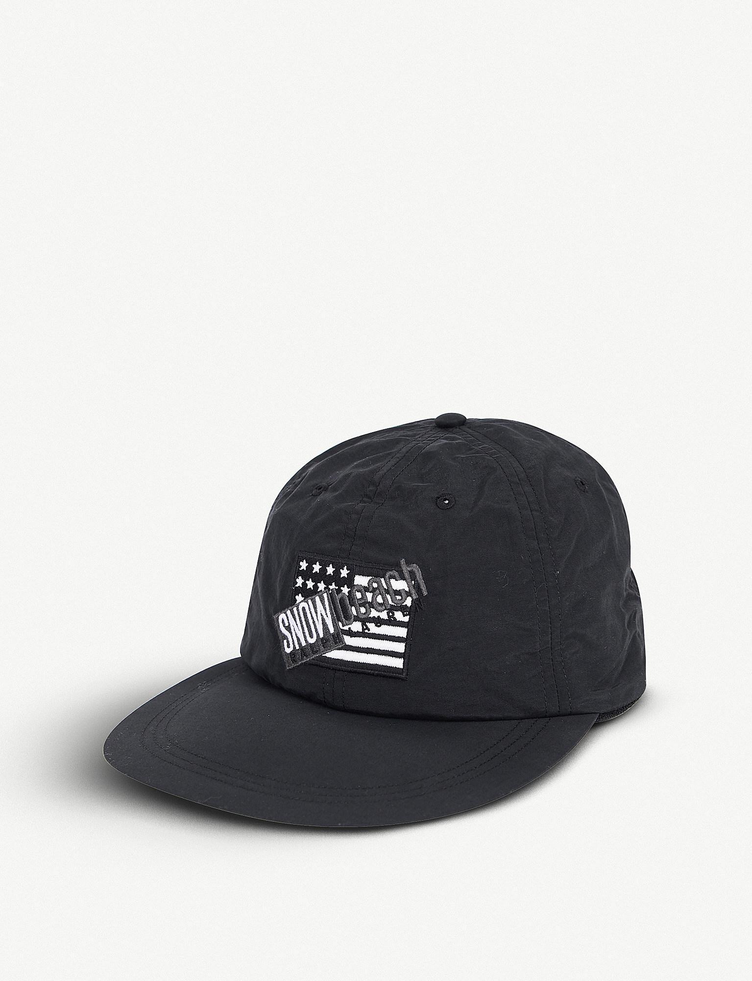 d29b270d7 Polo Ralph Lauren Snow Beach Fitted Cap in Black for Men - Lyst