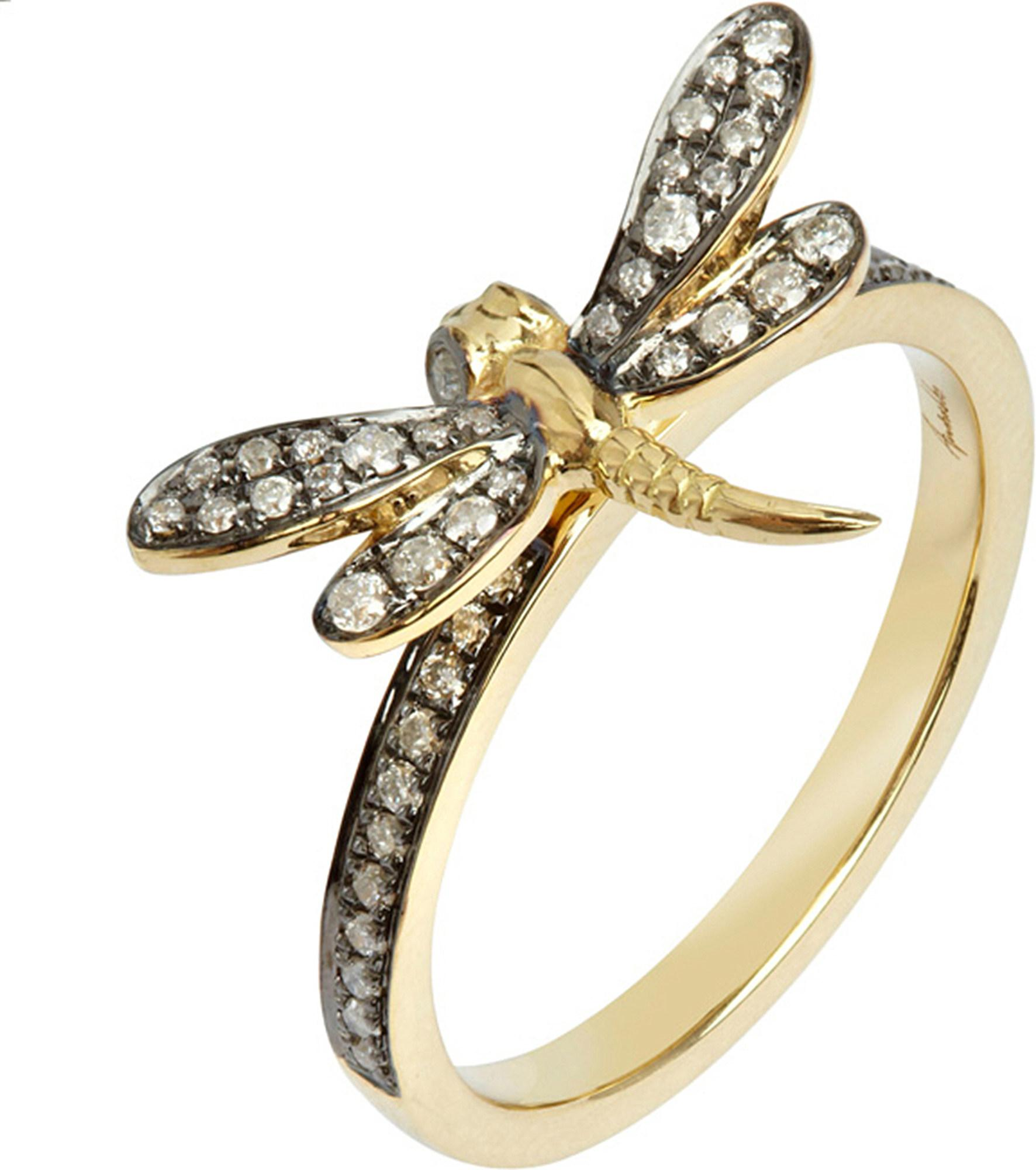 engagement sterling silver rings yellow phillip ring gold in dragonfly gavriel and