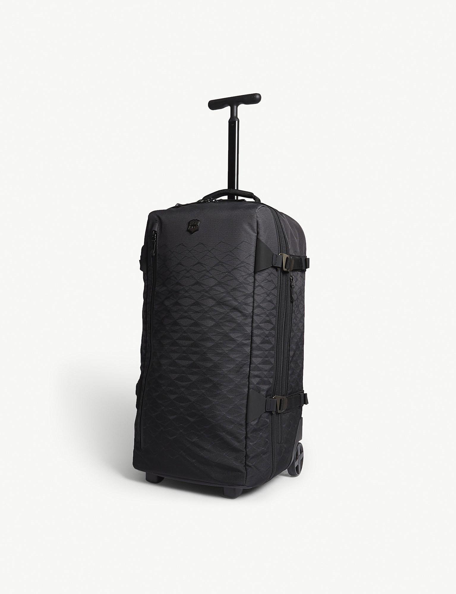 Lyst - Victorinox Vx Touring Two-wheel Duffle Bag 65cm in Black 1c6d3d2d58