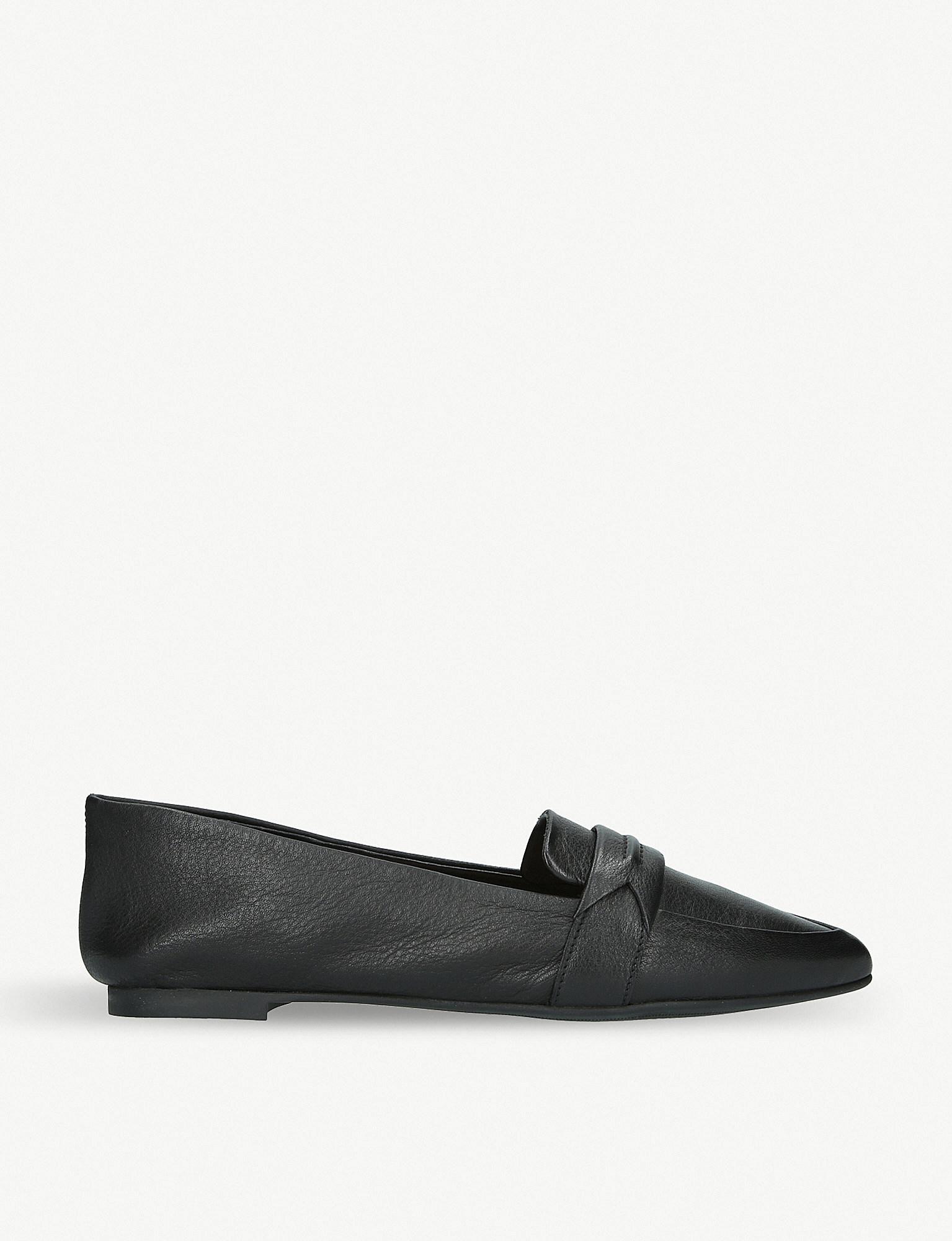 76596744e53 Lyst - ALDO Elalecia Leather Loafers in Black