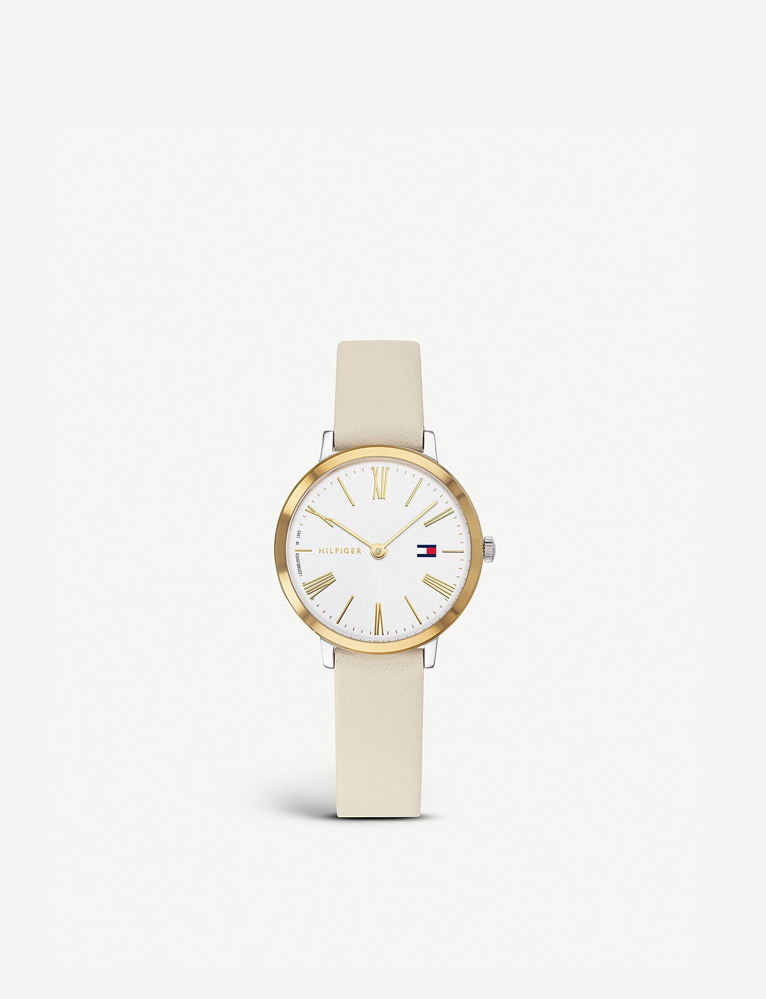 4dfb76906 Lyst - Tommy Hilfiger 1782051 Project Z Quartz Watch in Metallic