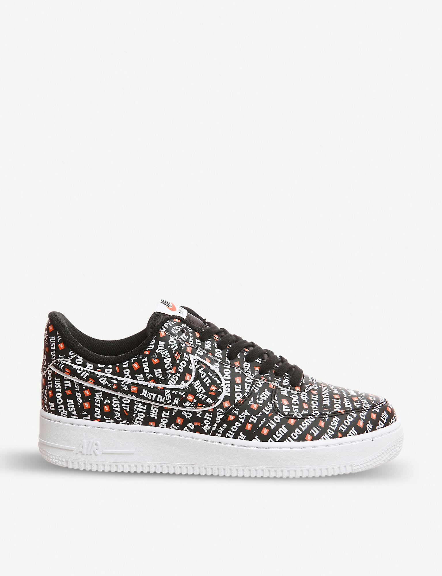 Nike Air Force 1 07 Just Do It Leather