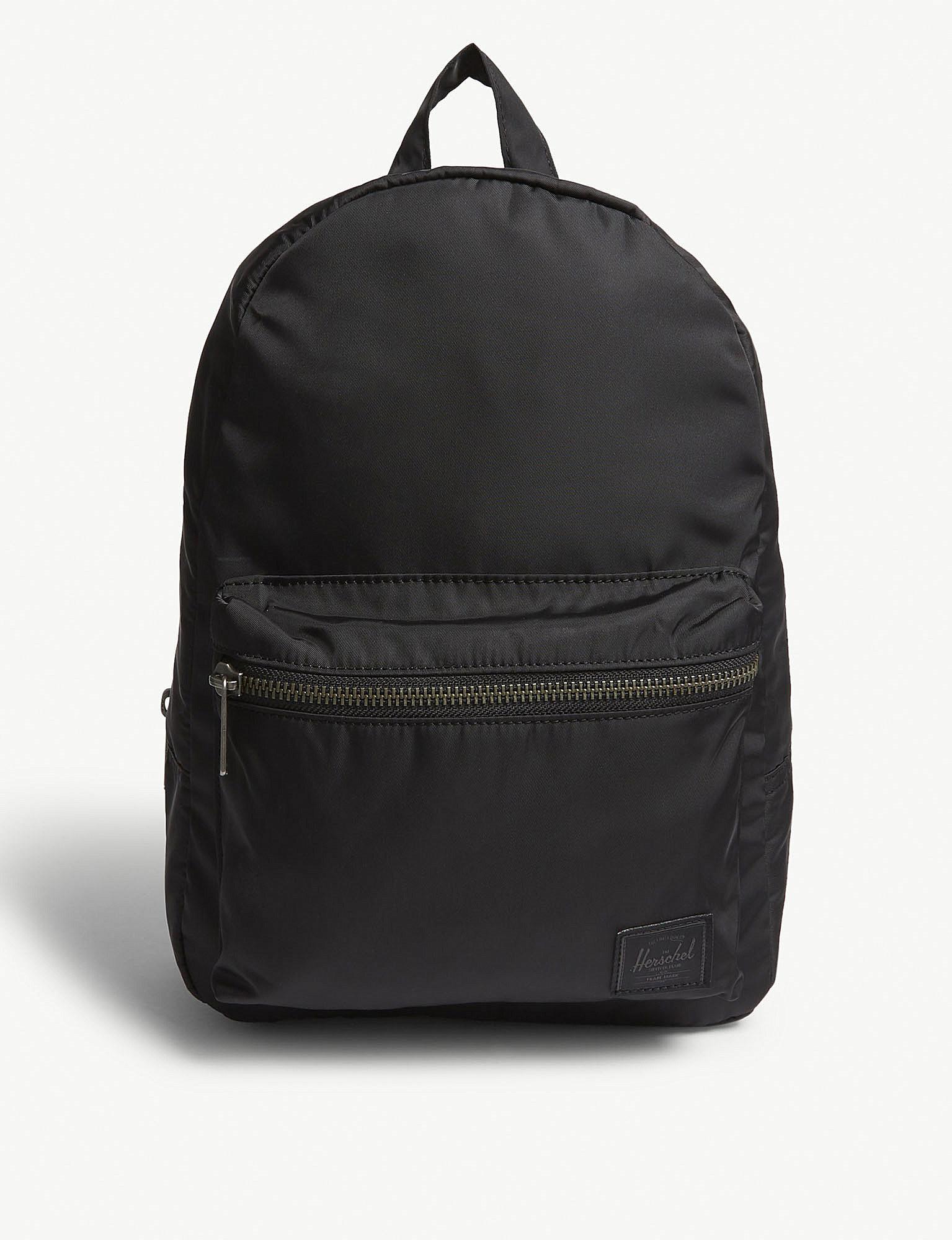 c44af0283b2 Herschel Supply Co. . Black Grove Fabric Backpack in Black for Men ...