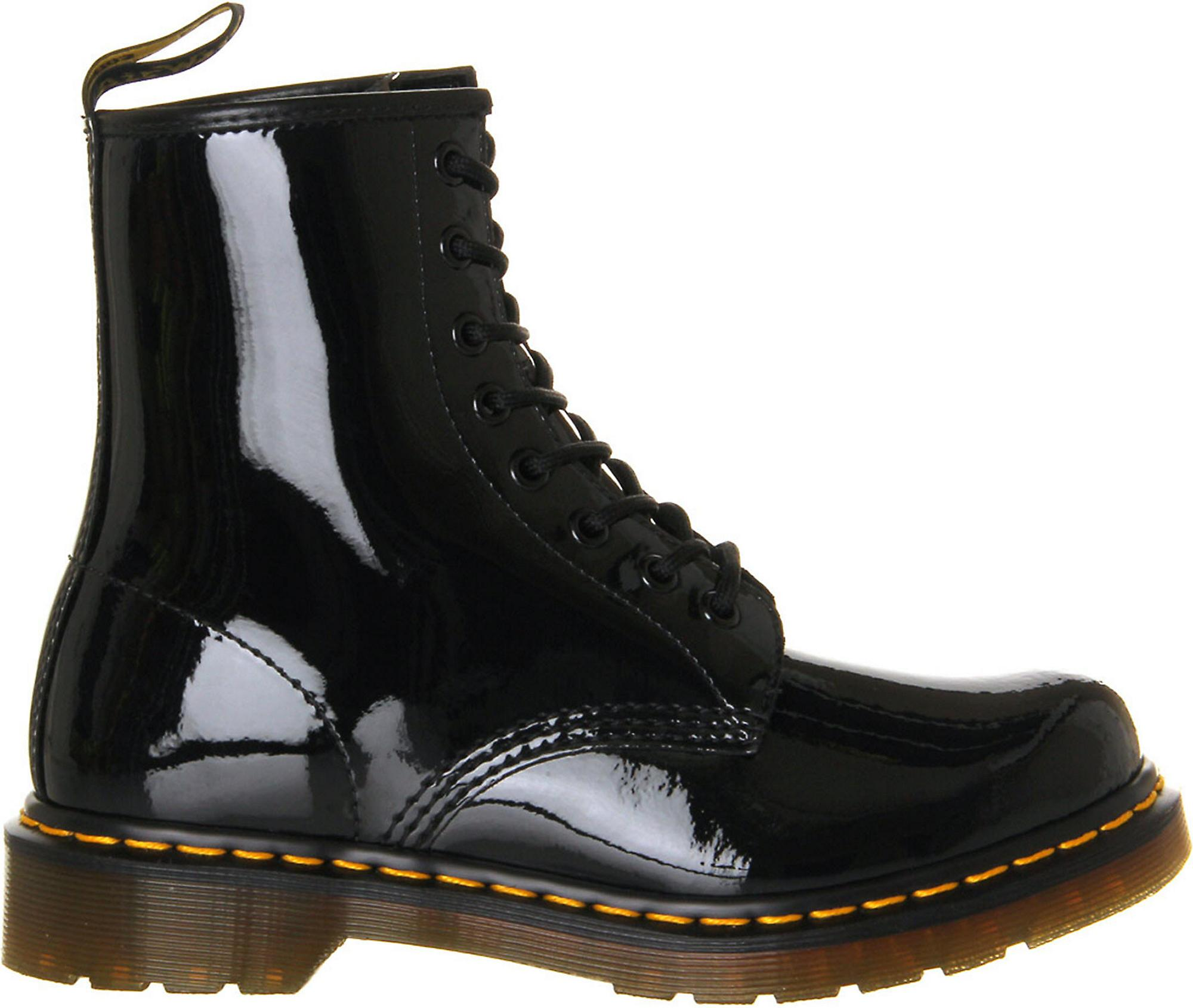 cde1c8b8cd8 Men's Black 1460 8-eye Patent Leather Boots