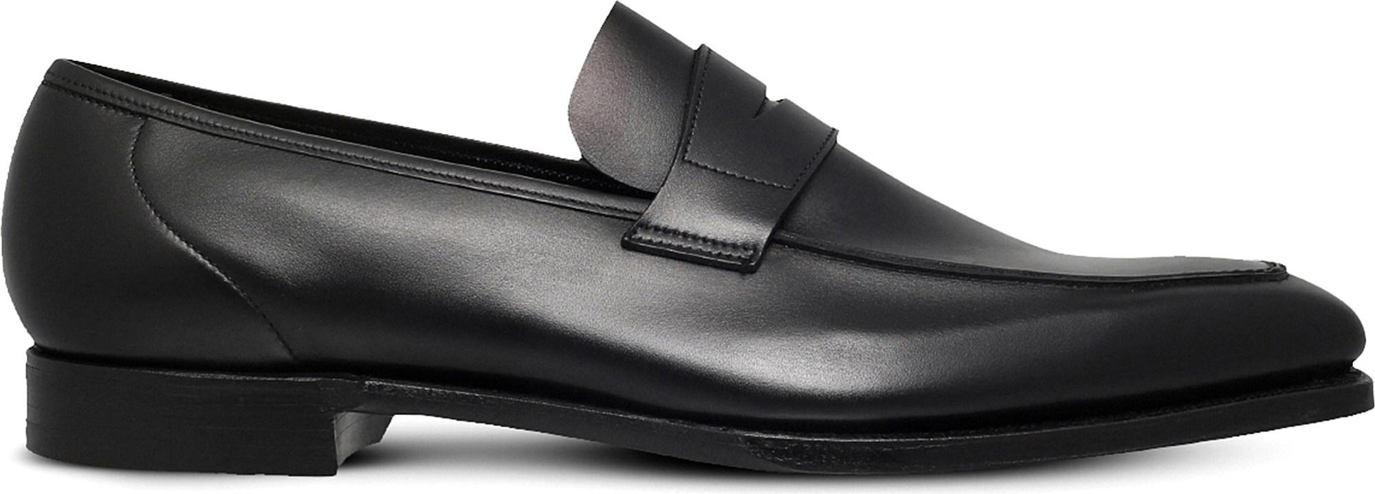 Adrian Leather Tasselled Loafers - BlackGeorge Cleverley PNS3tY