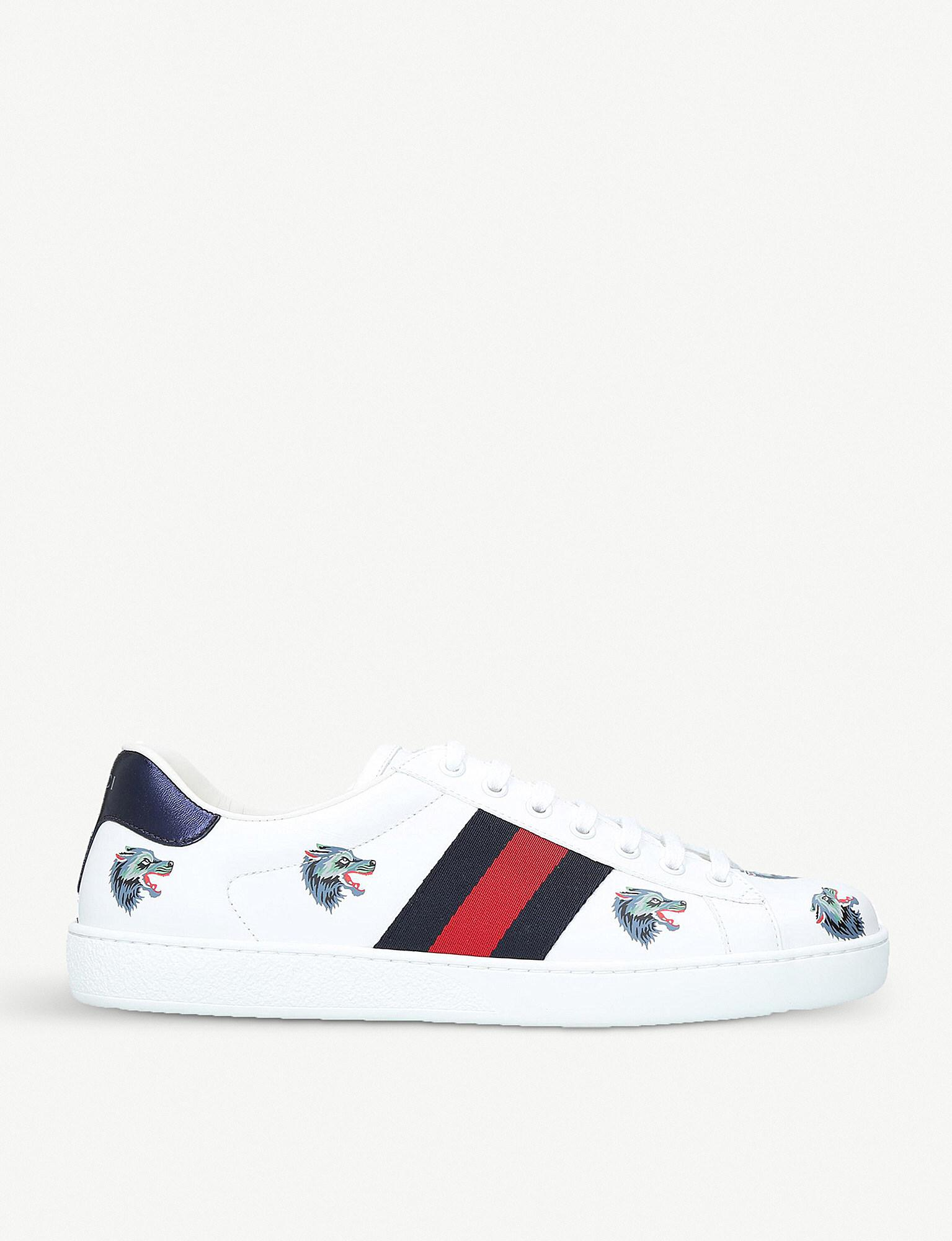 gucci wolf trainers cheap online