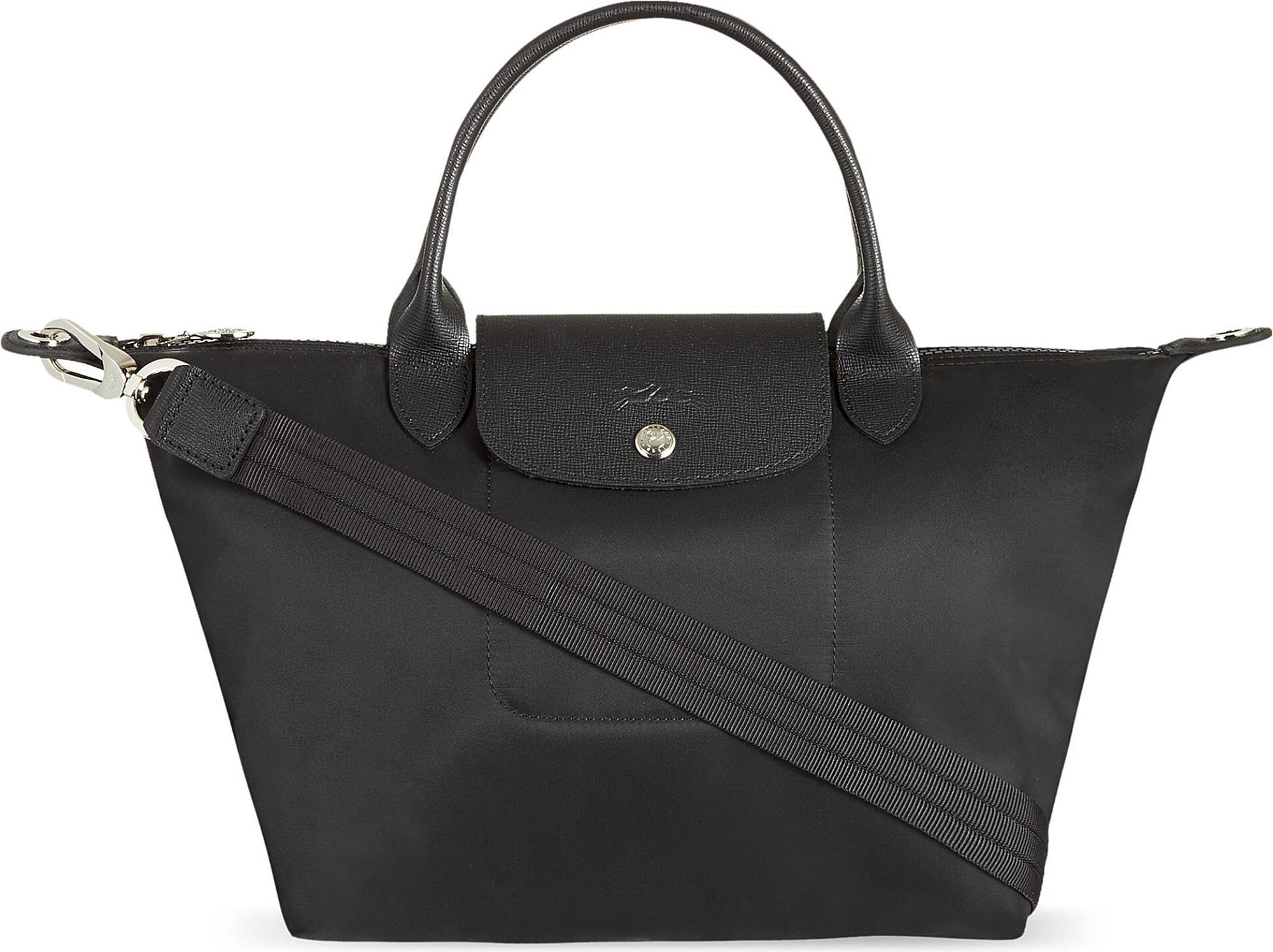 Longchamp Le Pliage Neo Medium Shopper in Black - Save 12% - Lyst 1b6c486ffac00