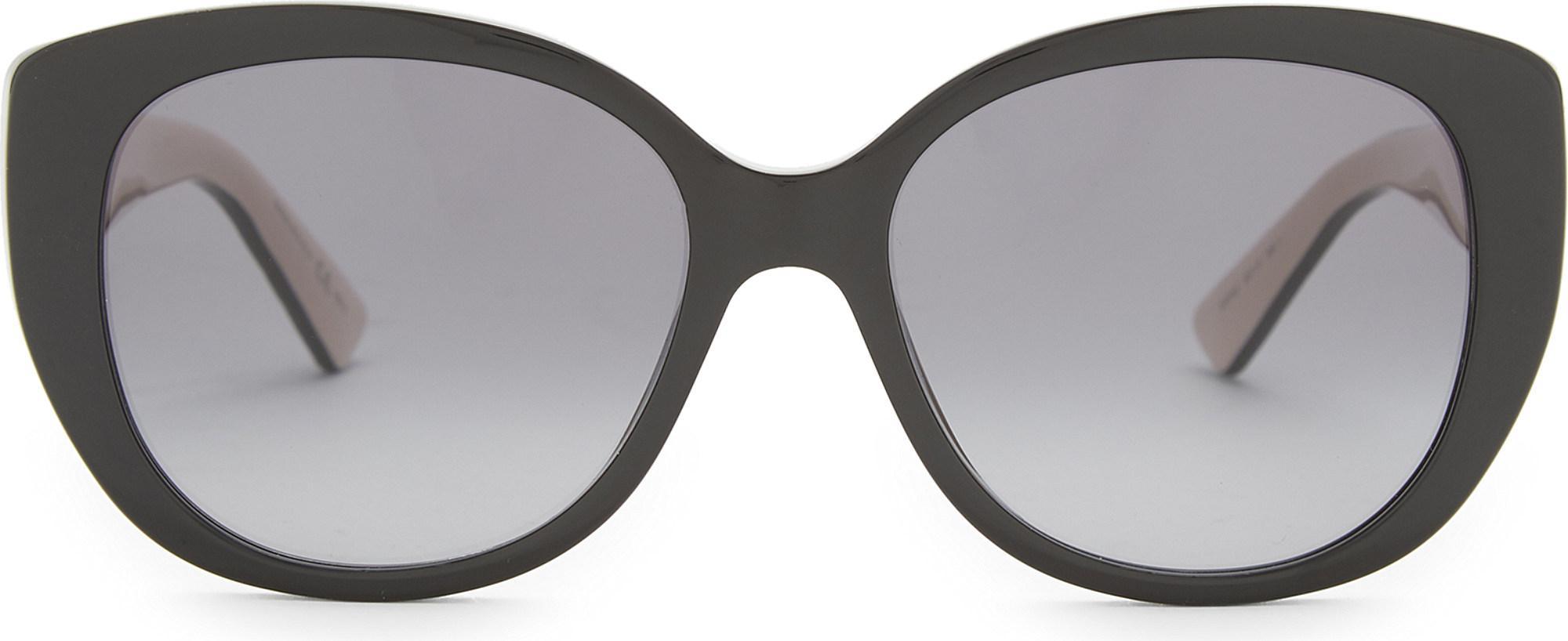 551ad3b8a45f1 Lyst - Dior Lady 1n Sunglasses in Black