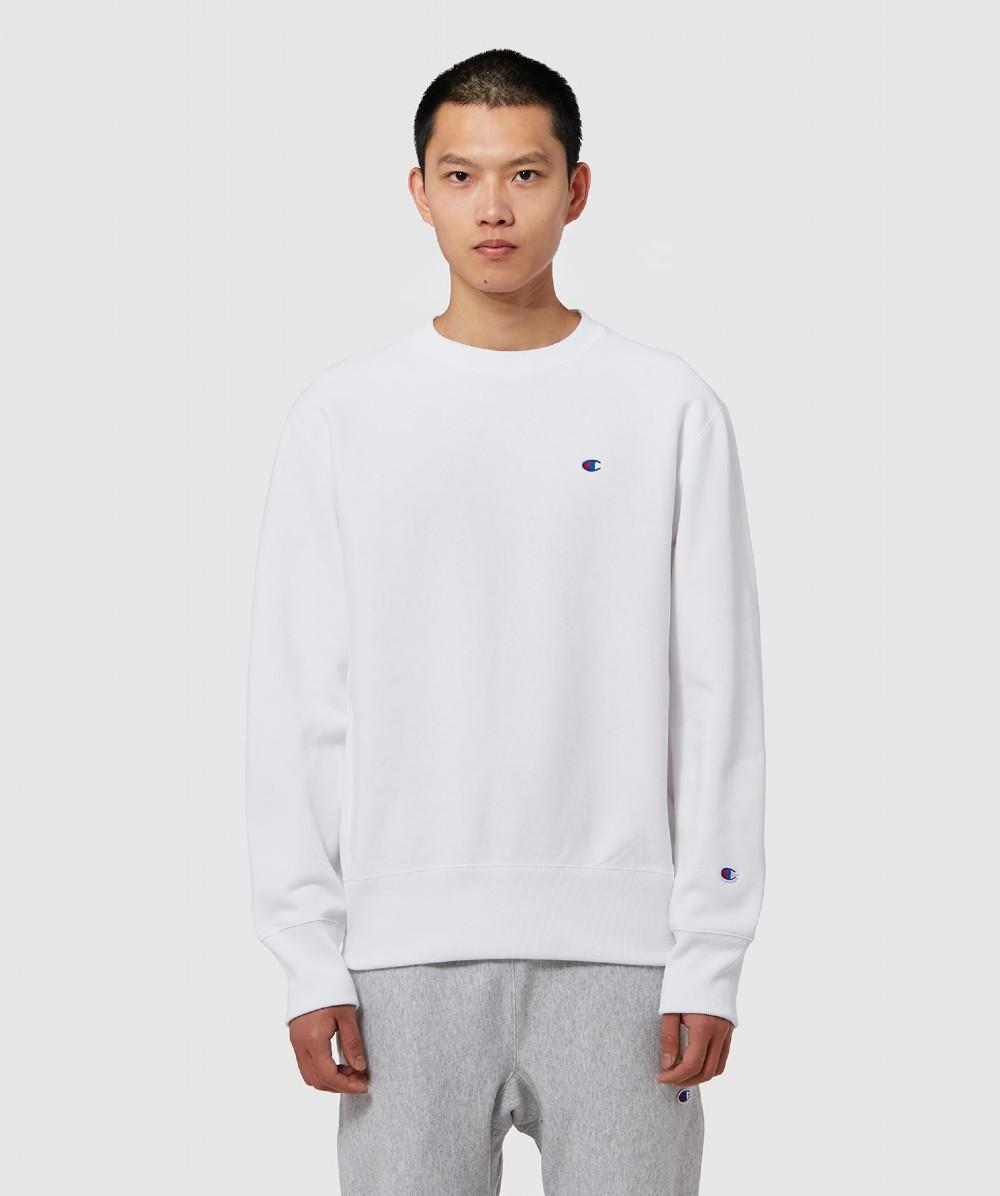 3866eebe45a0 Lyst - Champion Classic Crew Sweatshirt in White for Men