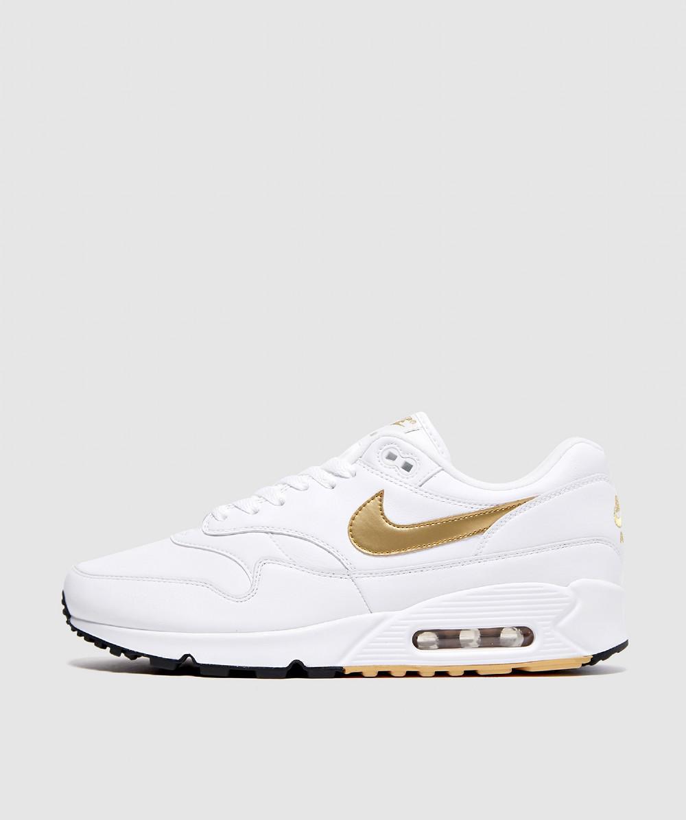 check out 94bd7 8112a Nike - White Air Max 90 1 Sneaker for Men - Lyst. View fullscreen