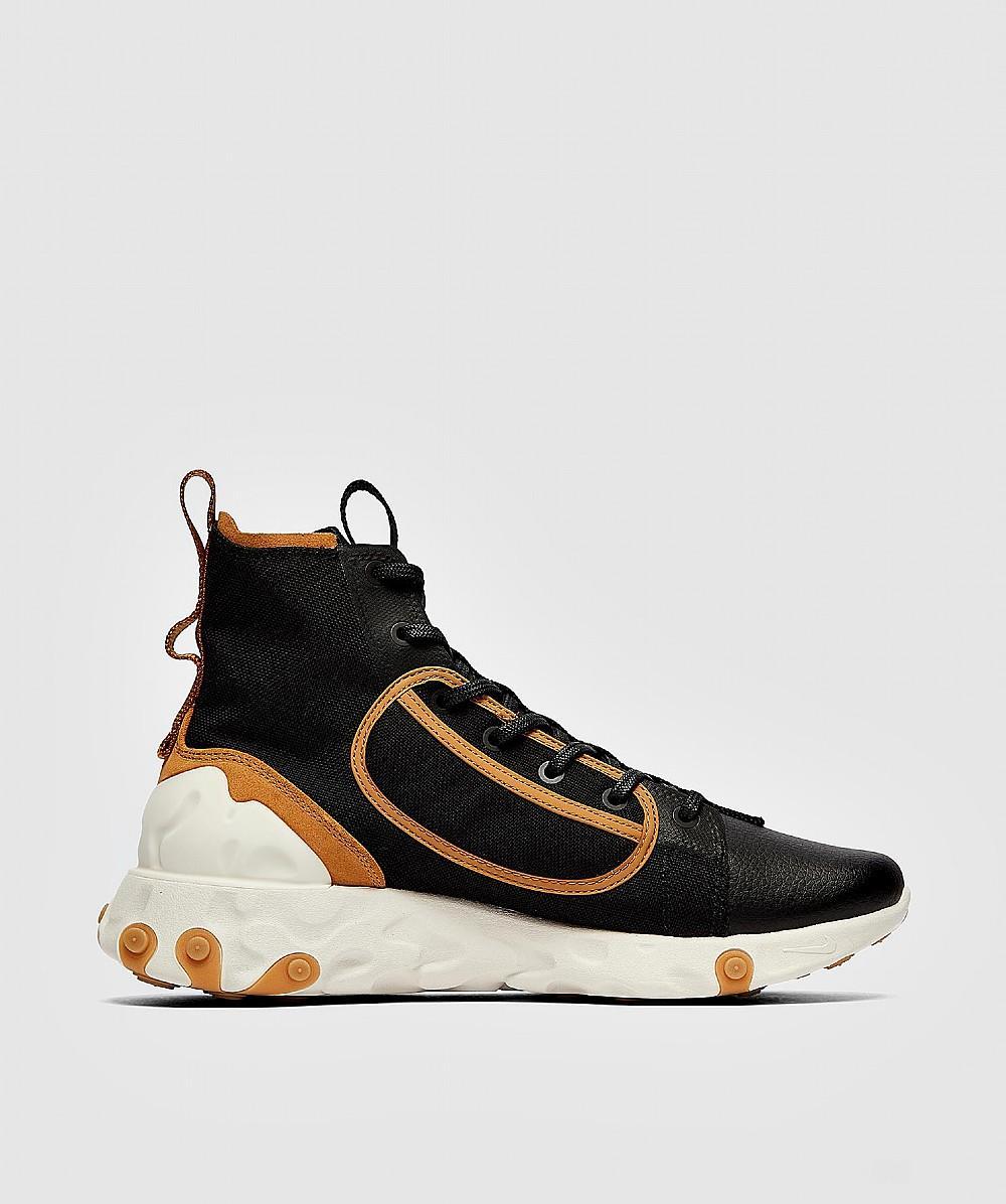 Nike React Ianga Sneaker in Black for Men - Lyst