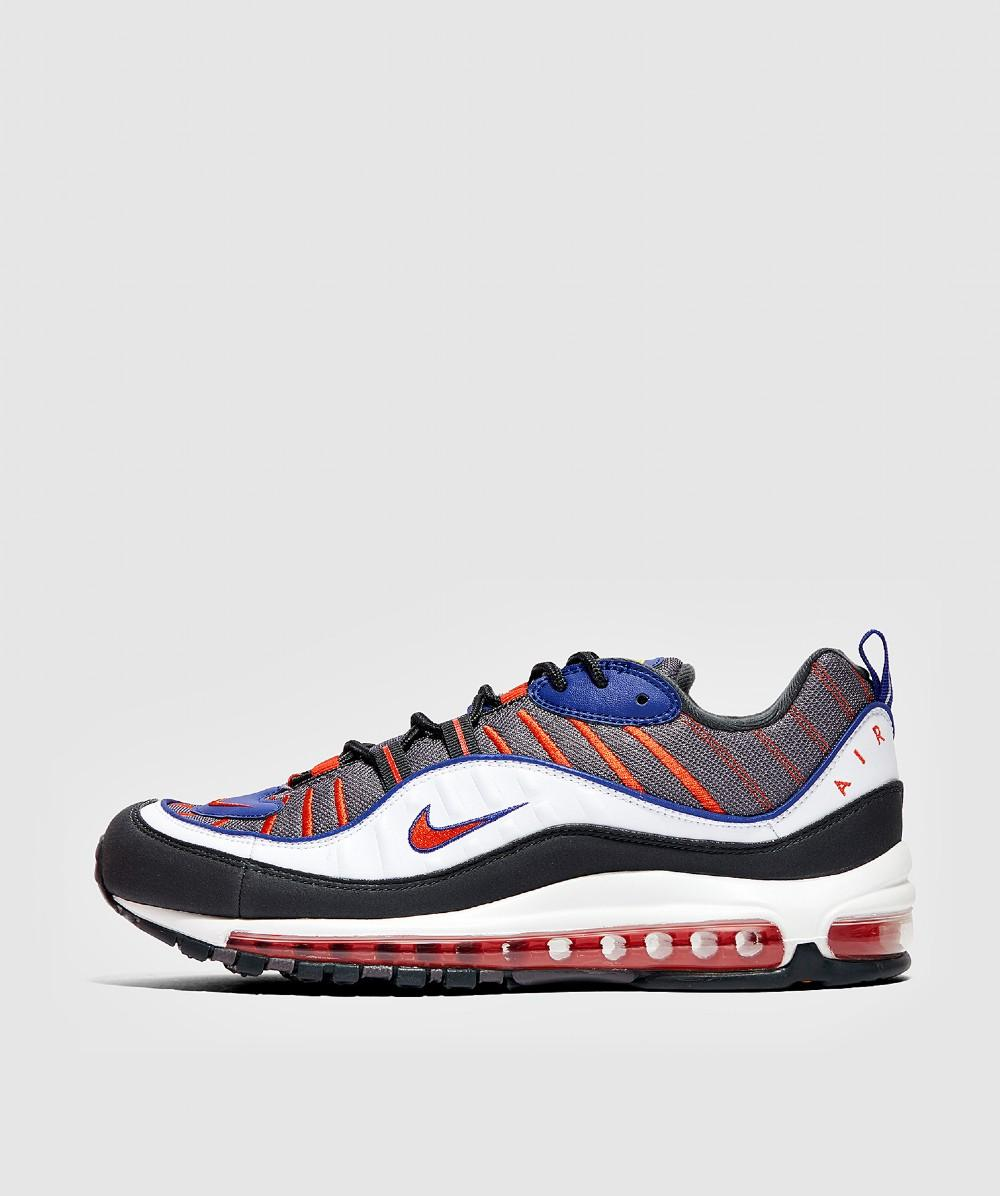 Nike Leather Air Max 98 in Blue for Men - Lyst