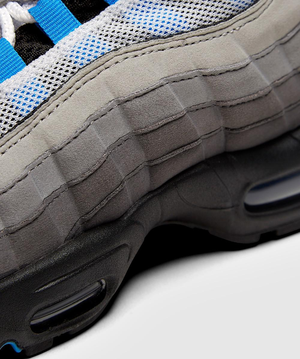 Lyst - Nike Air Max 95  crystal Blue  Trainer in Blue for Men 3aeebec673db