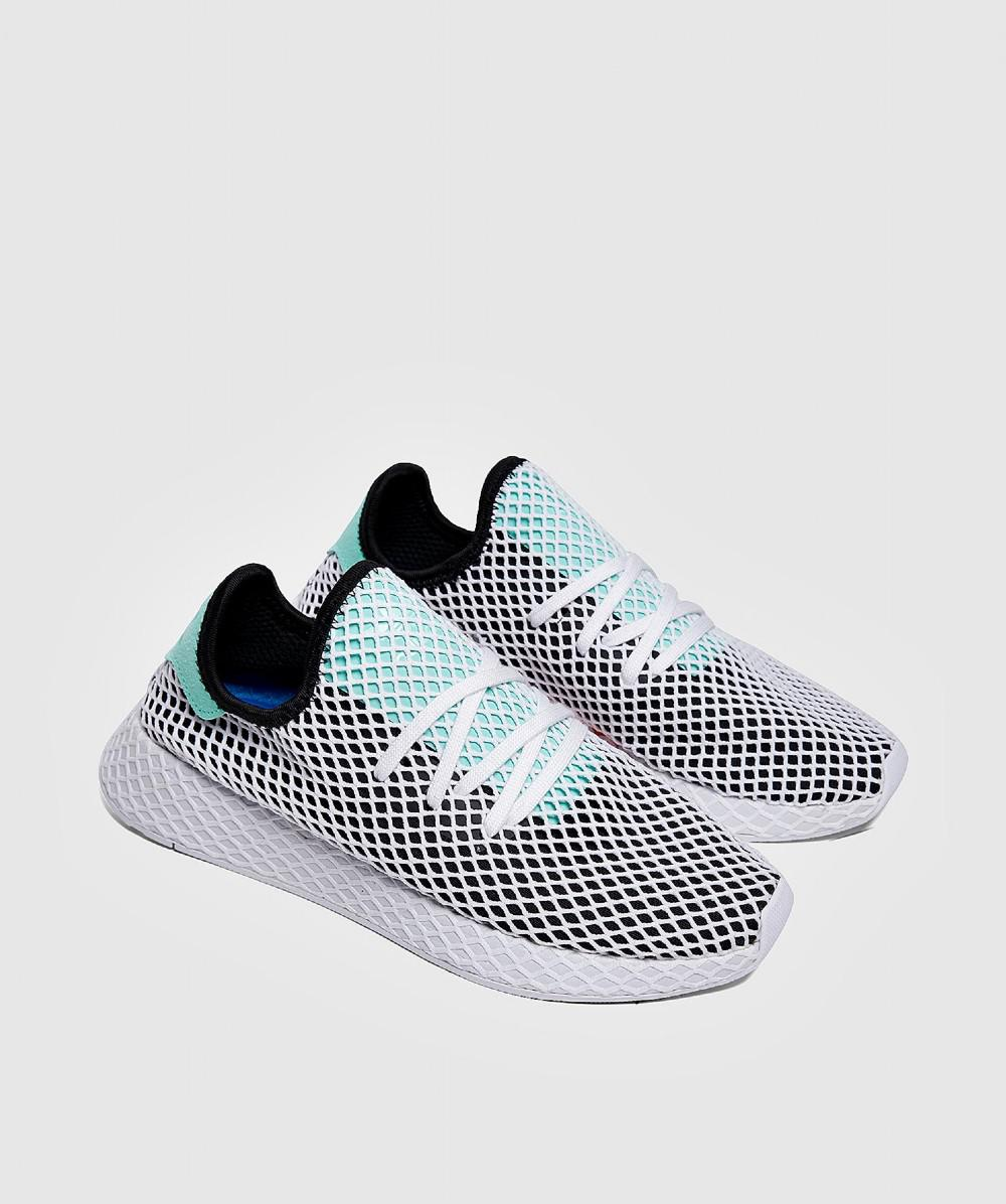 bfce7e22c3fe0 Lyst - Adidas Deerupt Runner Sneaker in White for Men