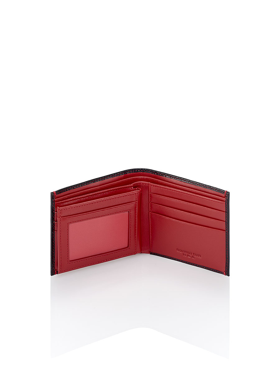579b5615bb Shanghai Tang Dragon Leather Wallet in Red for Men - Lyst