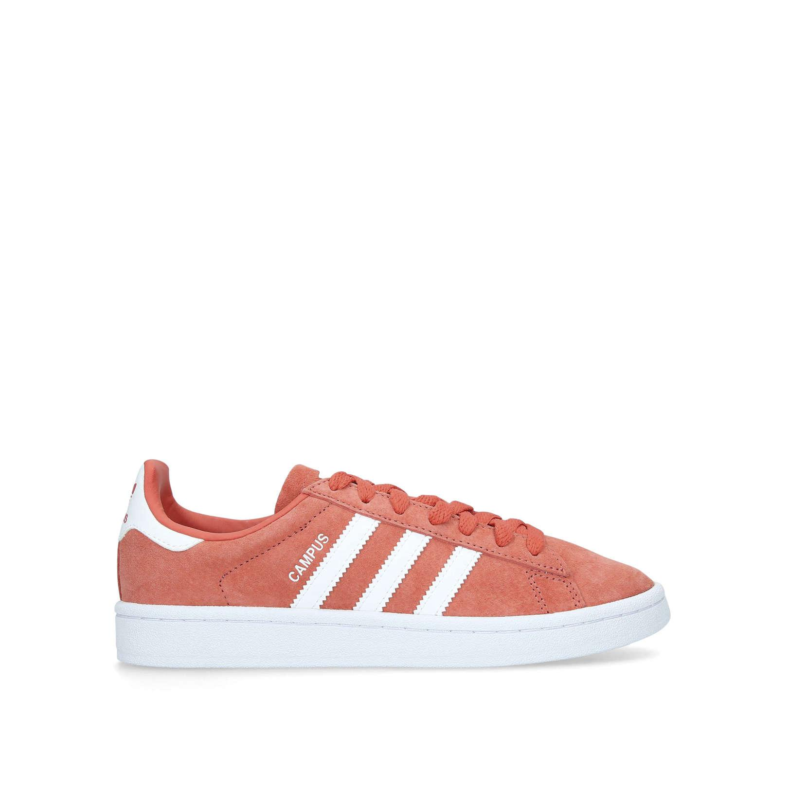 adidas Synthetic Campus Sneakers Salmon
