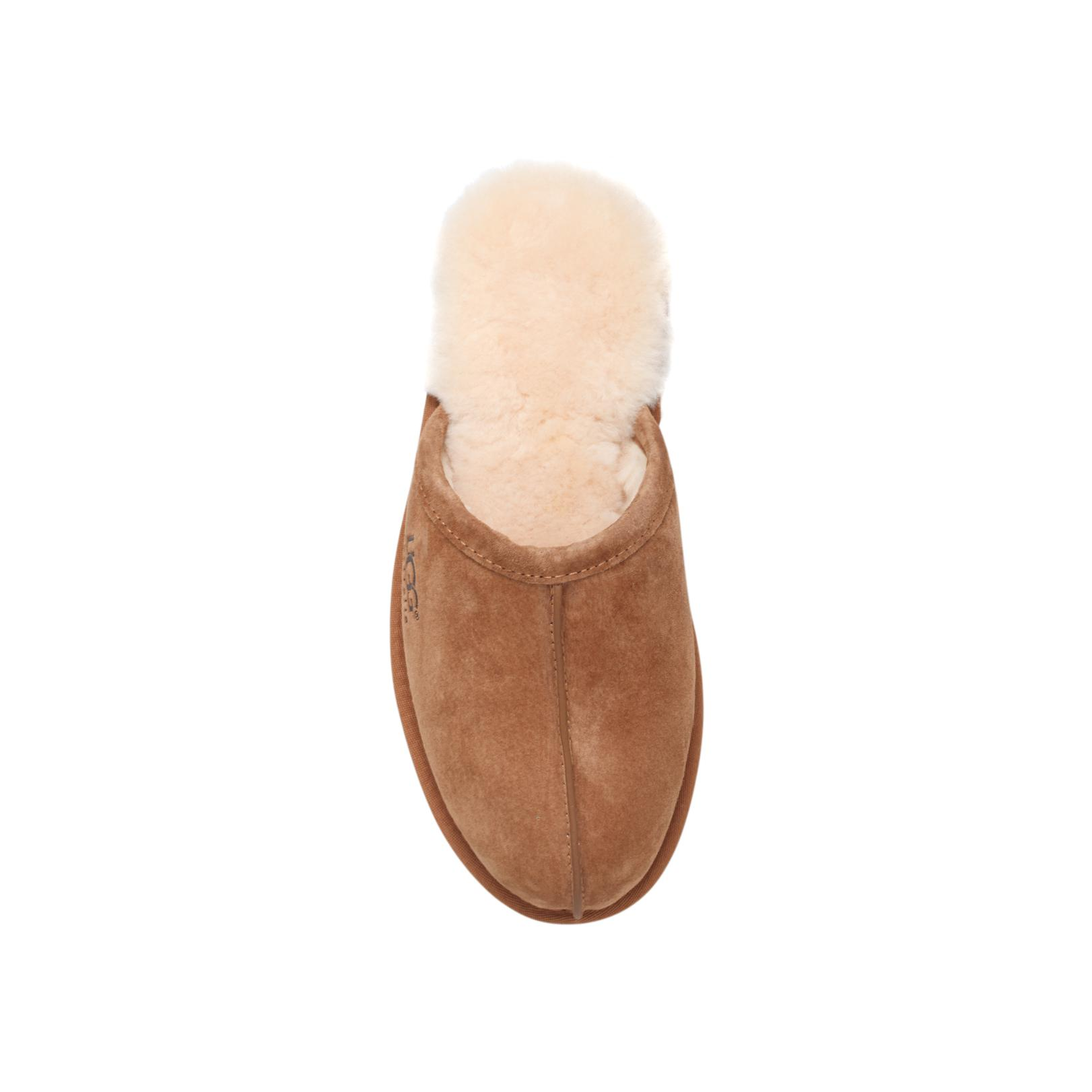 UGG Leather Men S Scuff in Brown for Men