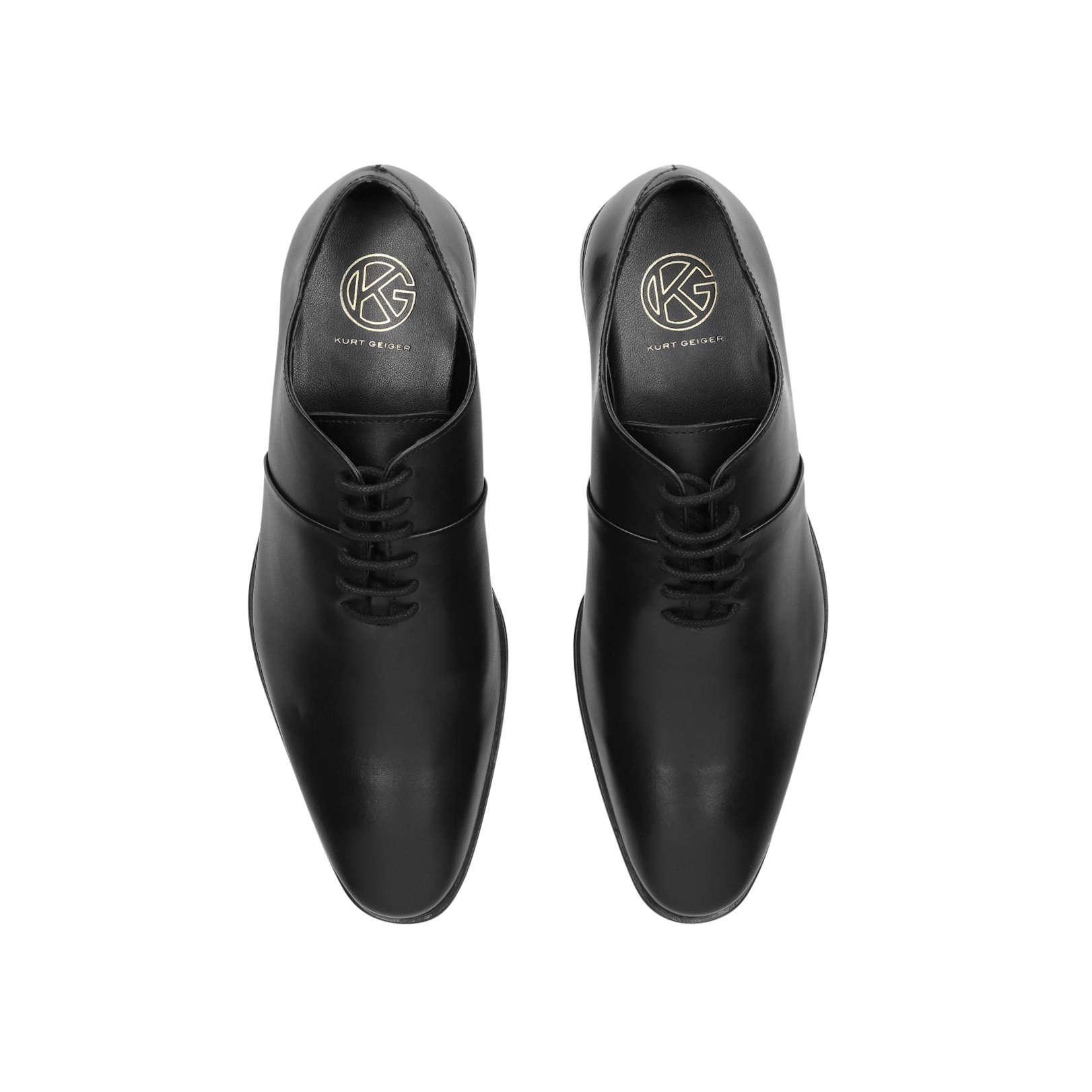 KG by Kurt Geiger Leather Rye Low Heel 0-21mm Formals Black for Men