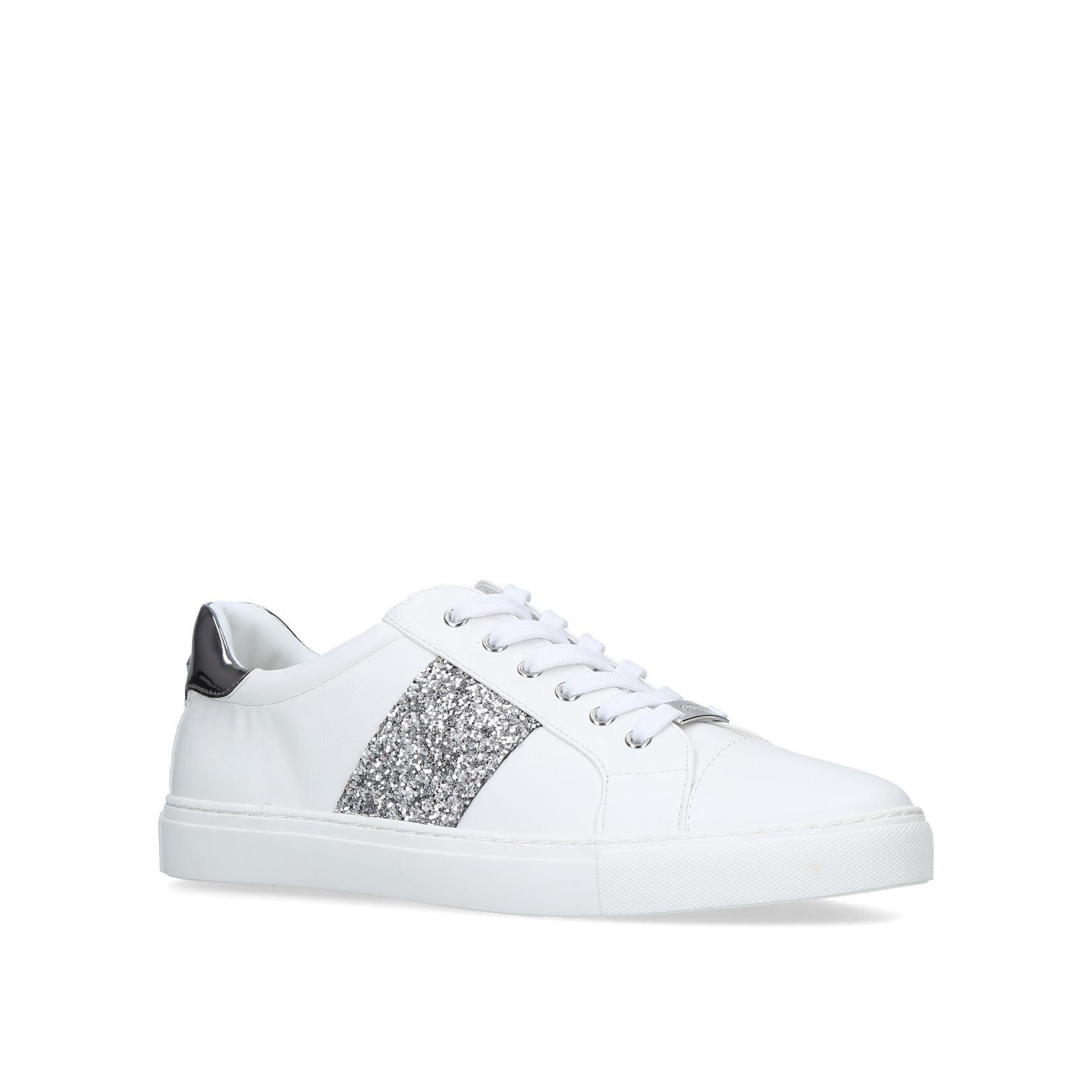 jumping' Embellished Low Top Trainers