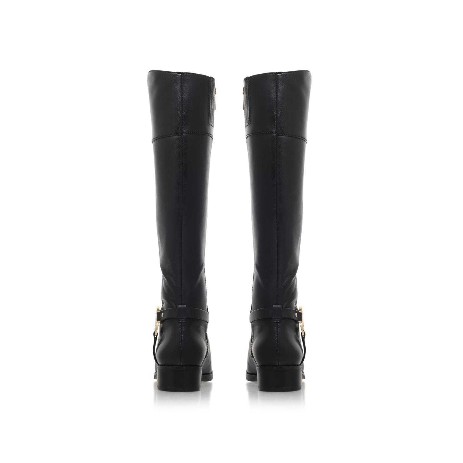 MICHAEL Michael Kors Leather Fulton Harness Boot in Black