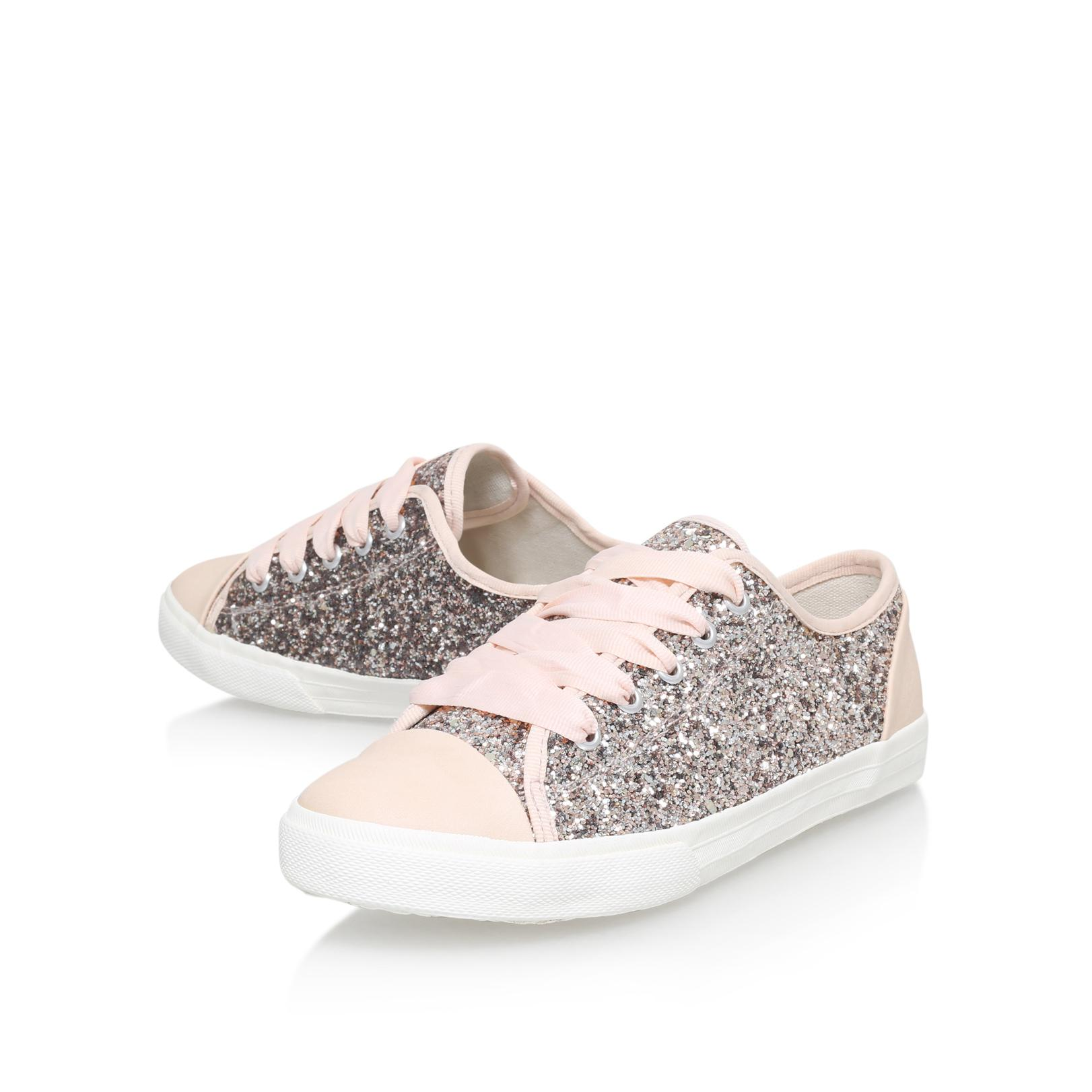 KG by Kurt Geiger Womens Lucca G Glitter/Leo Casual Lace