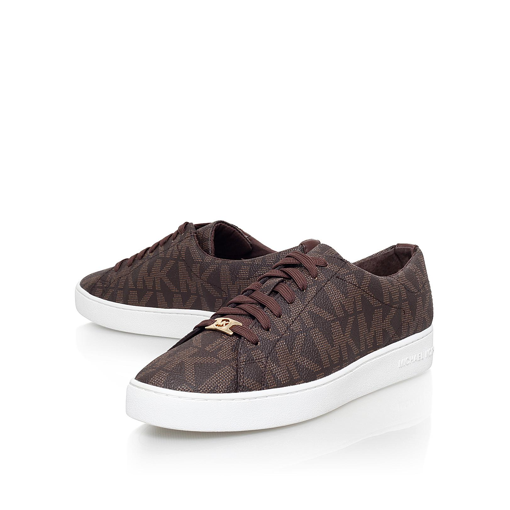 MICHAEL Michael Kors Synthetic Keaton Sneaker in Brown