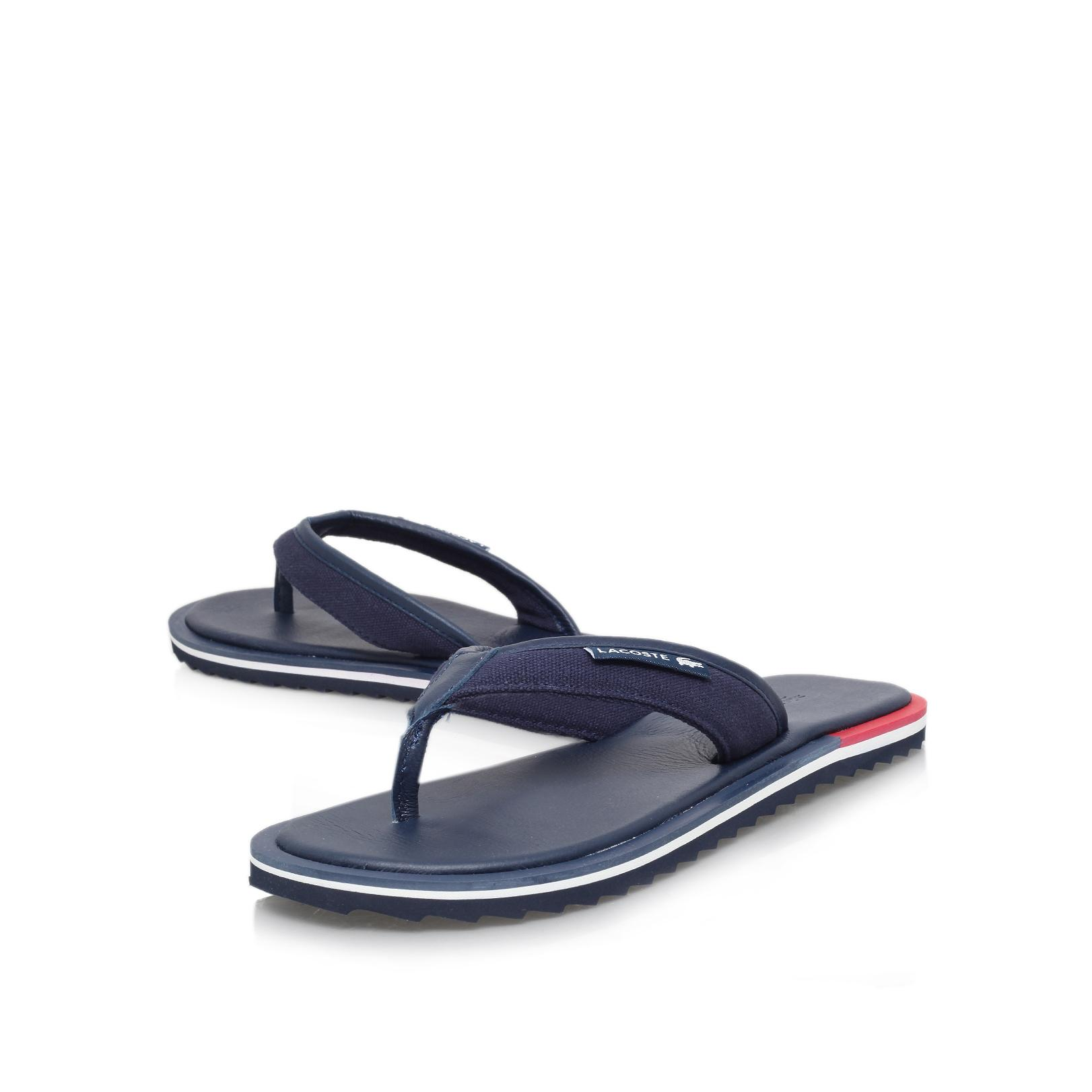 8358a9fe157e Lacoste Athali 2 Flip Flop in Blue for Men - Lyst