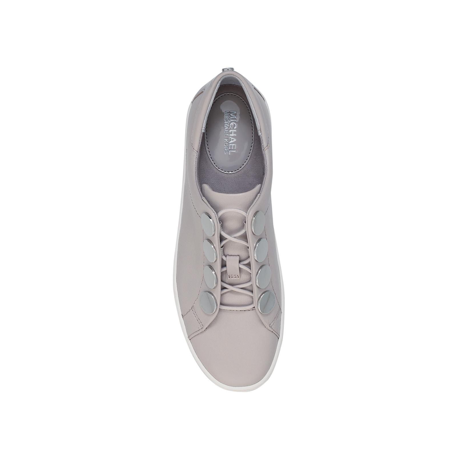 MICHAEL Michael Kors Willie Sneaker in Grey Light (Grey)