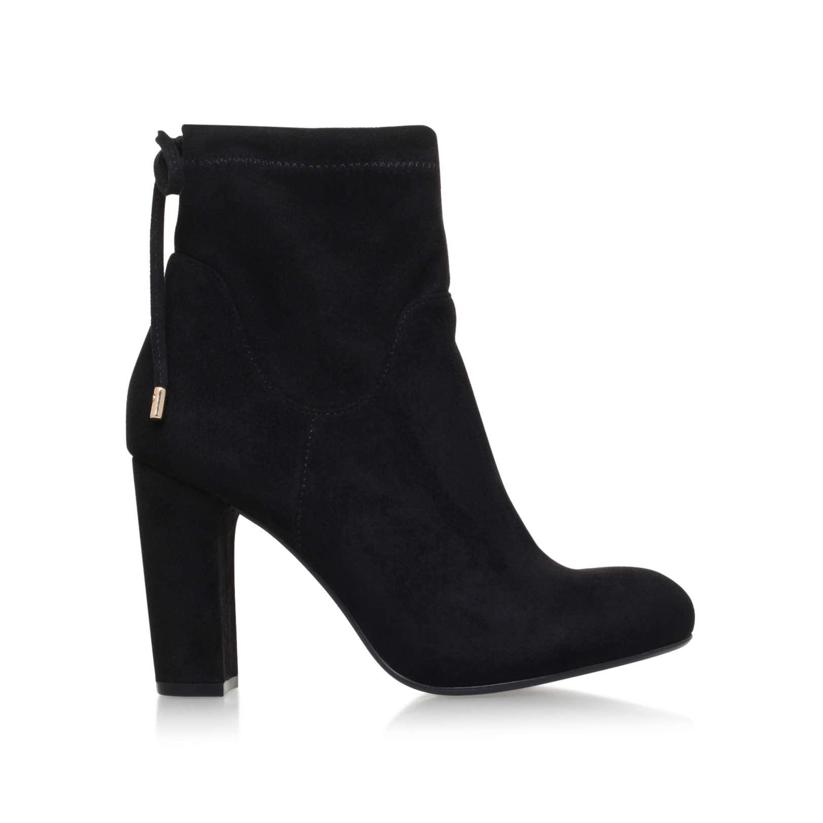 Carvela Kurt Geiger Denim Pacey Ankle Boots in Black