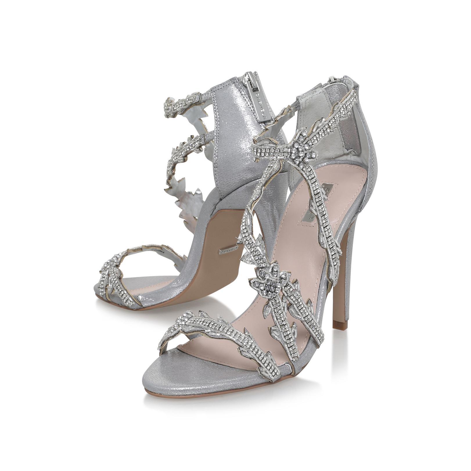 364105c2e51 Carvela Kurt Geiger Goa Heels in Metallic - Lyst