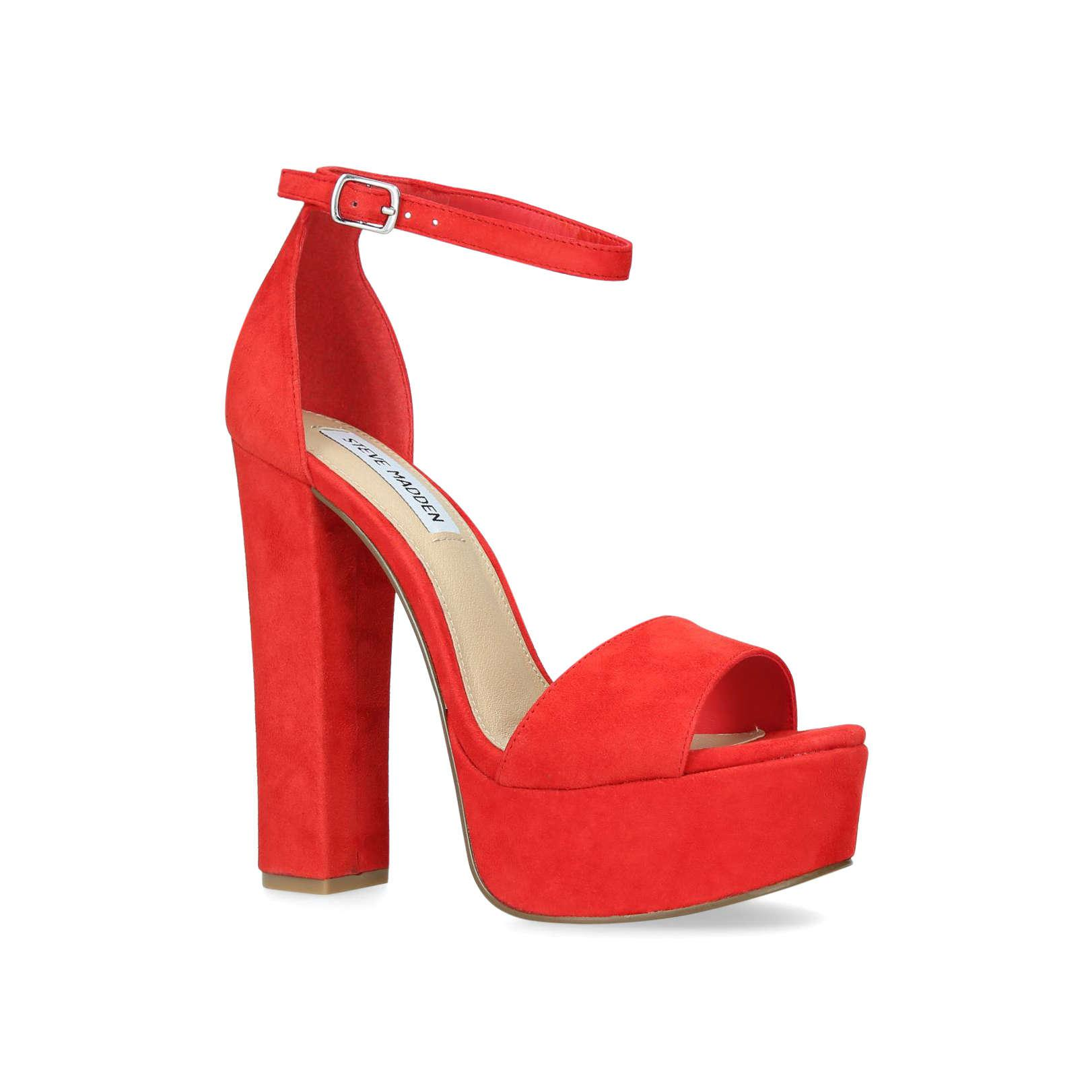 55301bc674a8 Steve Madden Gonzo in Red - Lyst