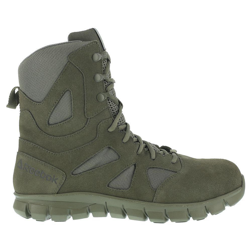 Reebok - Green Sublite Cushion Tactical Soft Toe for Men - Lyst. View  fullscreen 34efd1410
