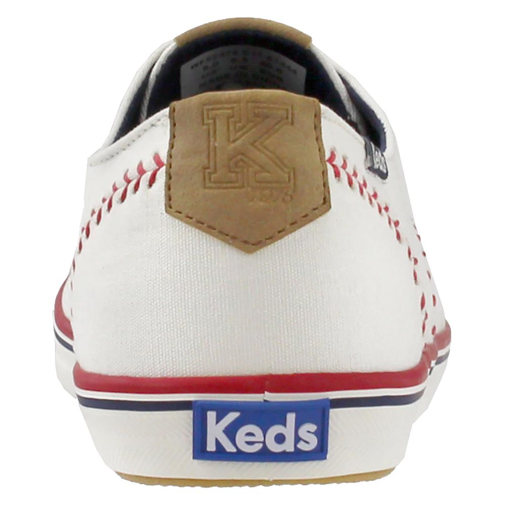 5663a04dfb96c Lyst - Keds Champion Pennant Canvas in White