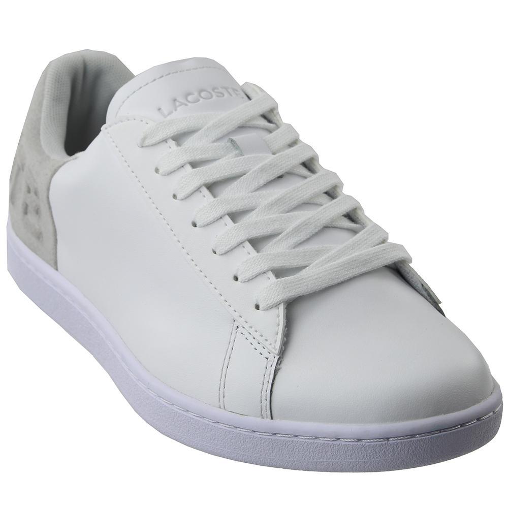 dcfdd8120da5a7 Lyst - Lacoste Carnaby Evo 318 3 in White - Save 39%