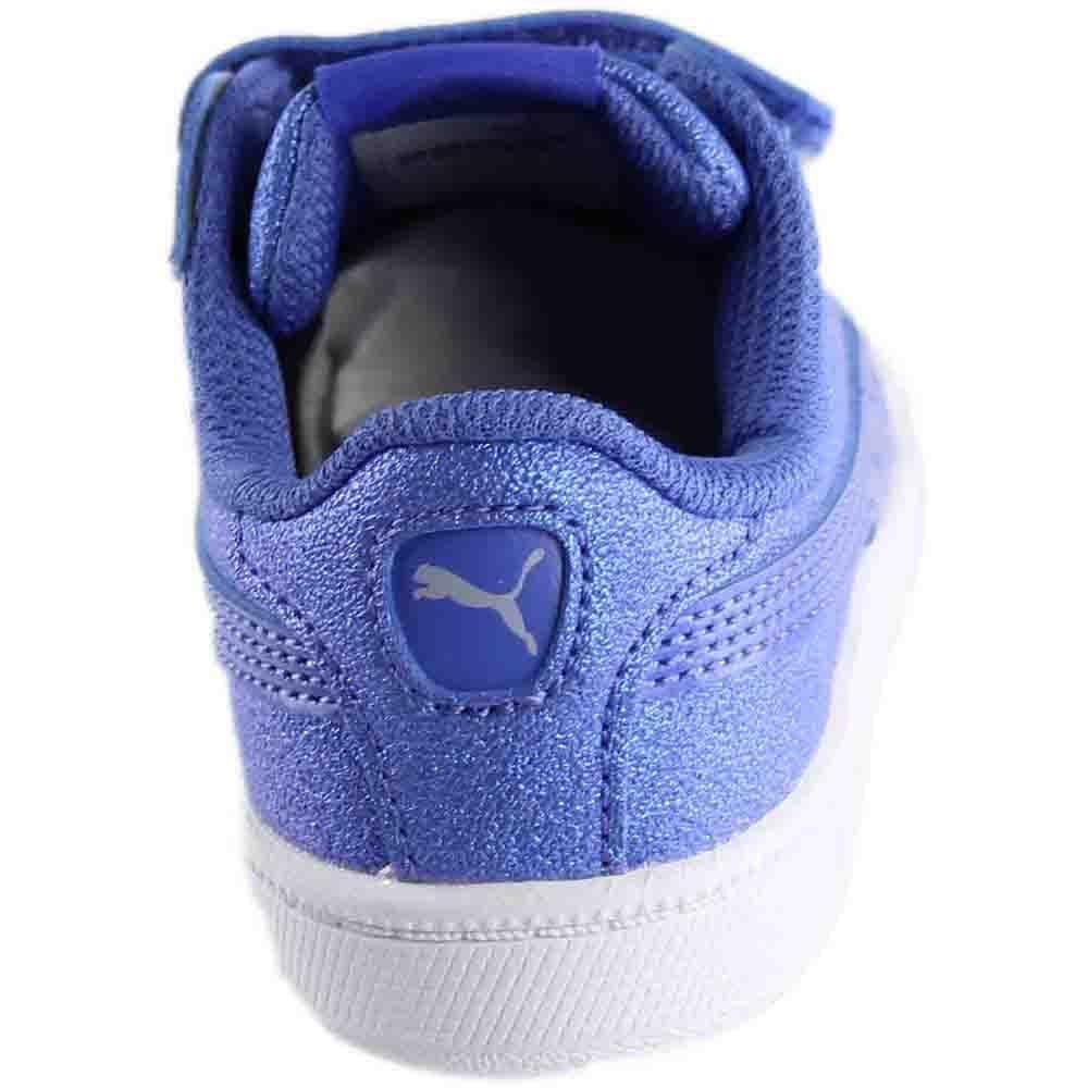a4d8040987 PUMA Smash Glitz Sl V Infant in Blue - Lyst