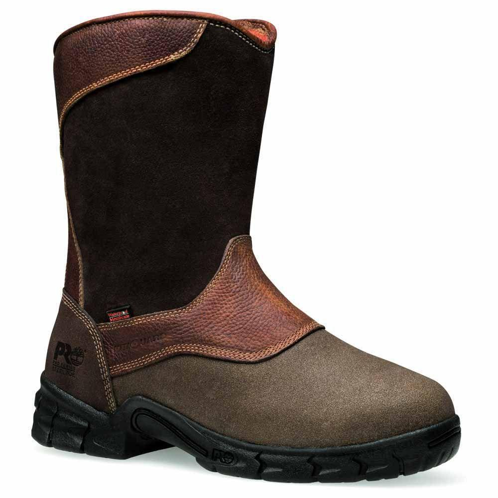 f0c030f8251 Timberland - Brown Excave Steel Toe Wellington Boots for Men - Lyst