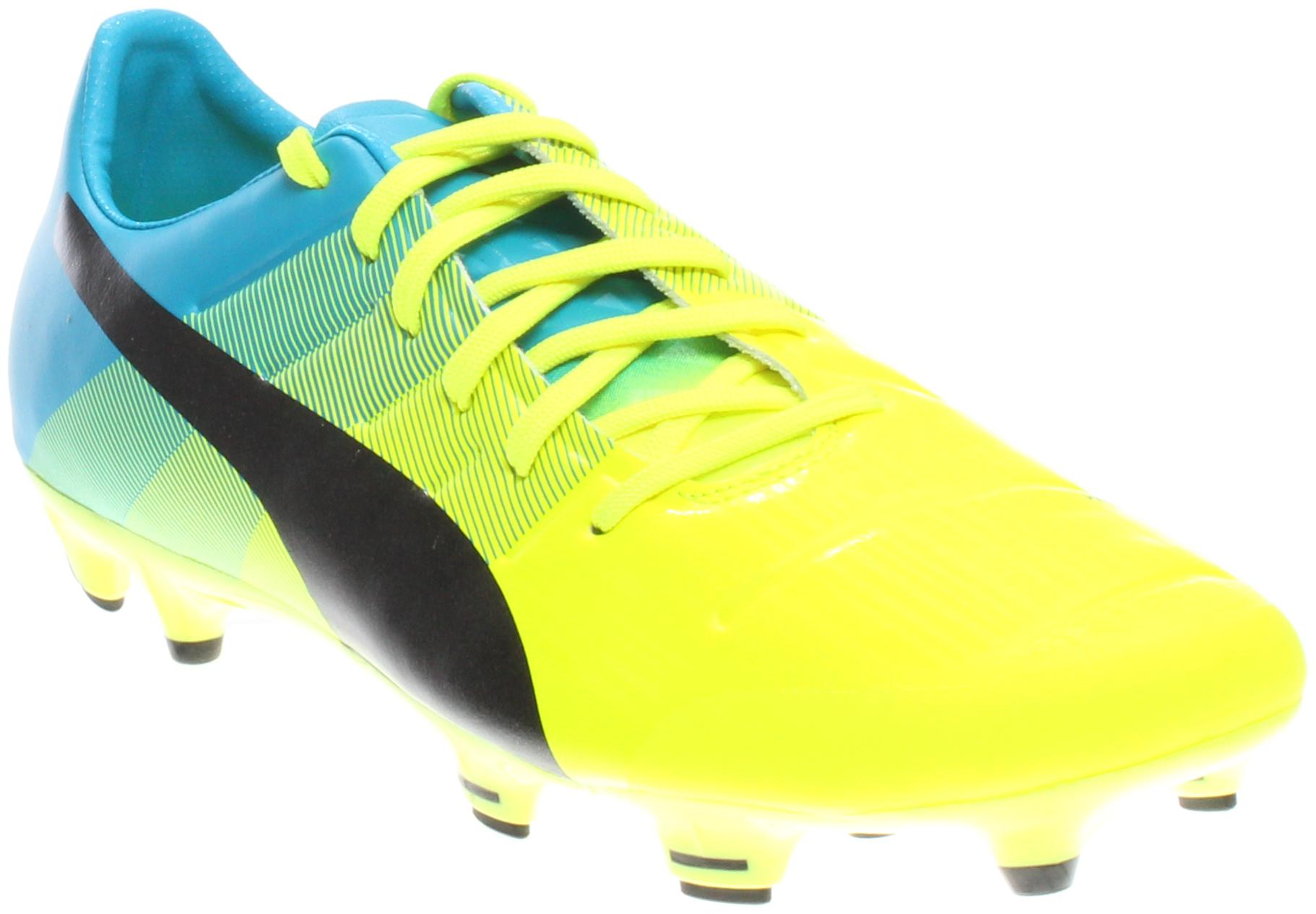 8acc882dd PUMA Evopower 2.3 Firm Ground Cleats in Yellow for Men - Lyst