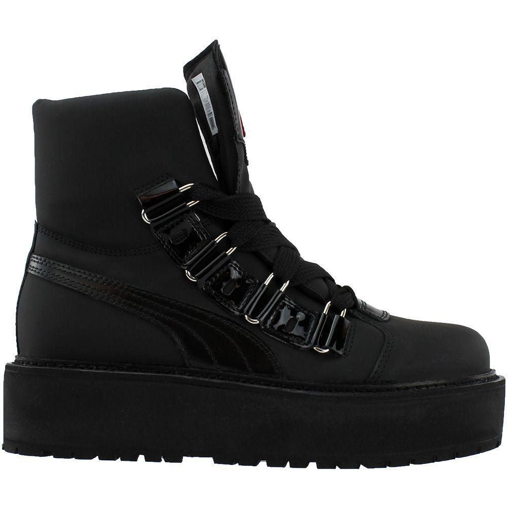 1d3d5893ec517f PUMA - Black Fenty By Rihanna Sneaker Boot for Men - Lyst. View fullscreen
