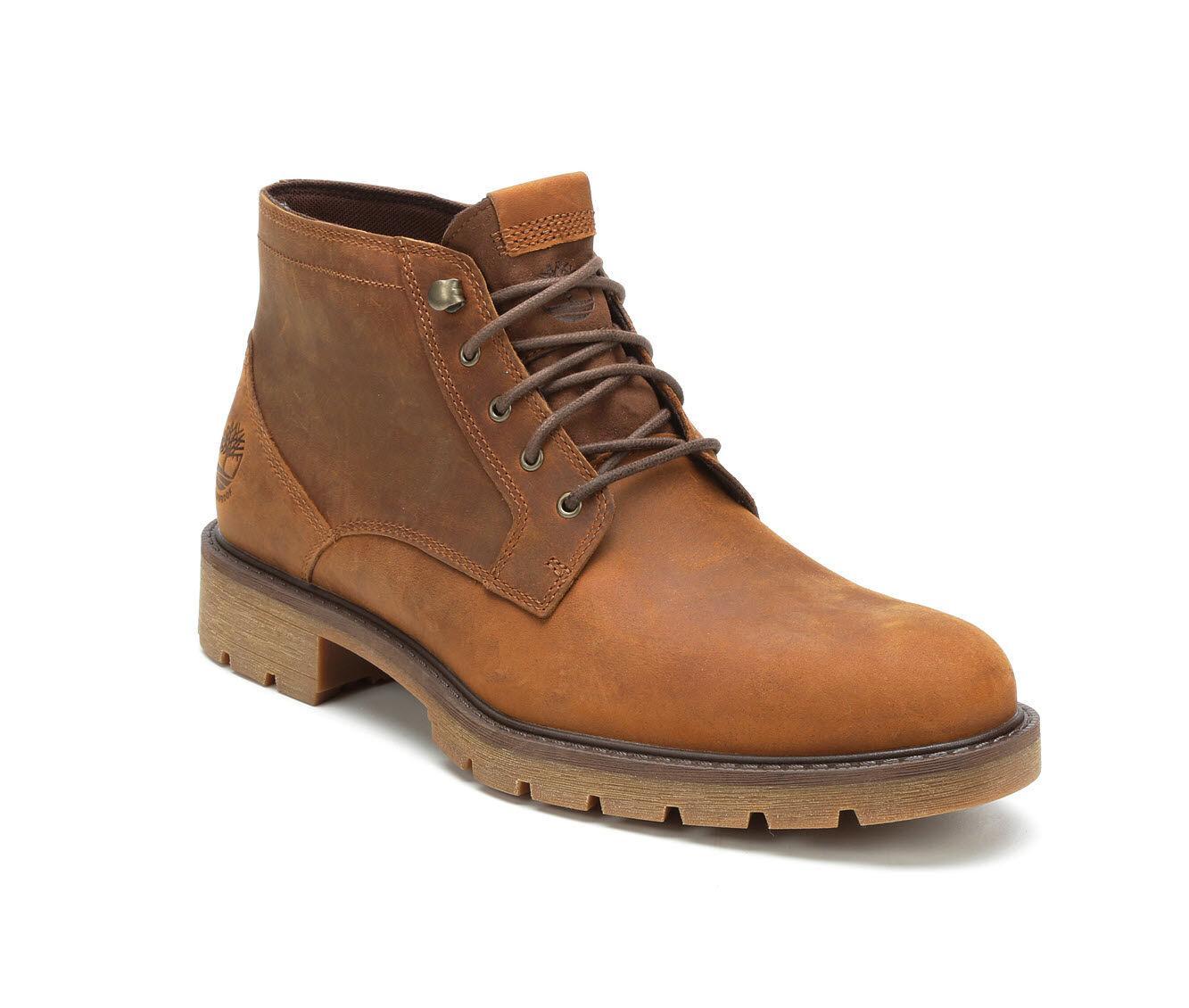 Comida sana Economía águila  Timberland Leather Elmhurst Chukka Boot in Brown for Men - Lyst