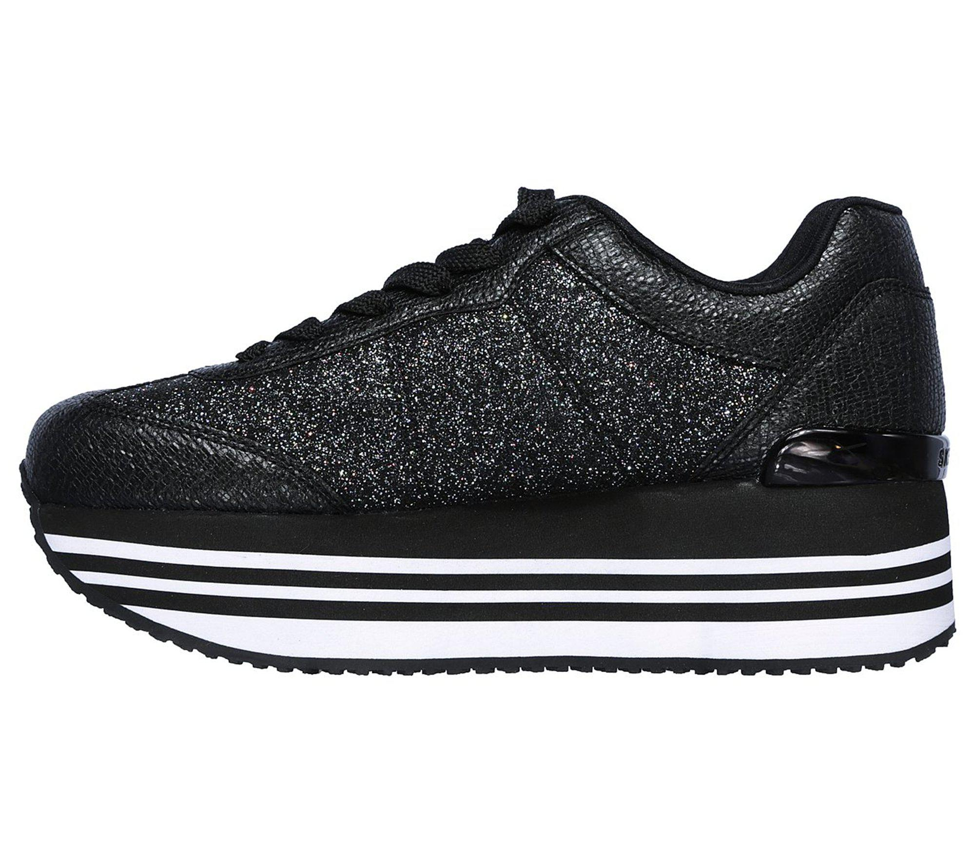 Skechers Leather Highrise - High