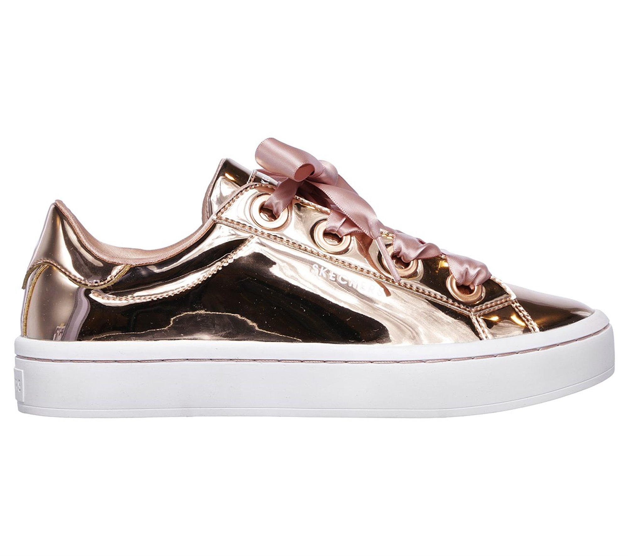 d267796168ec Lyst - Skechers Hi-lites - Liquid Bling in Pink