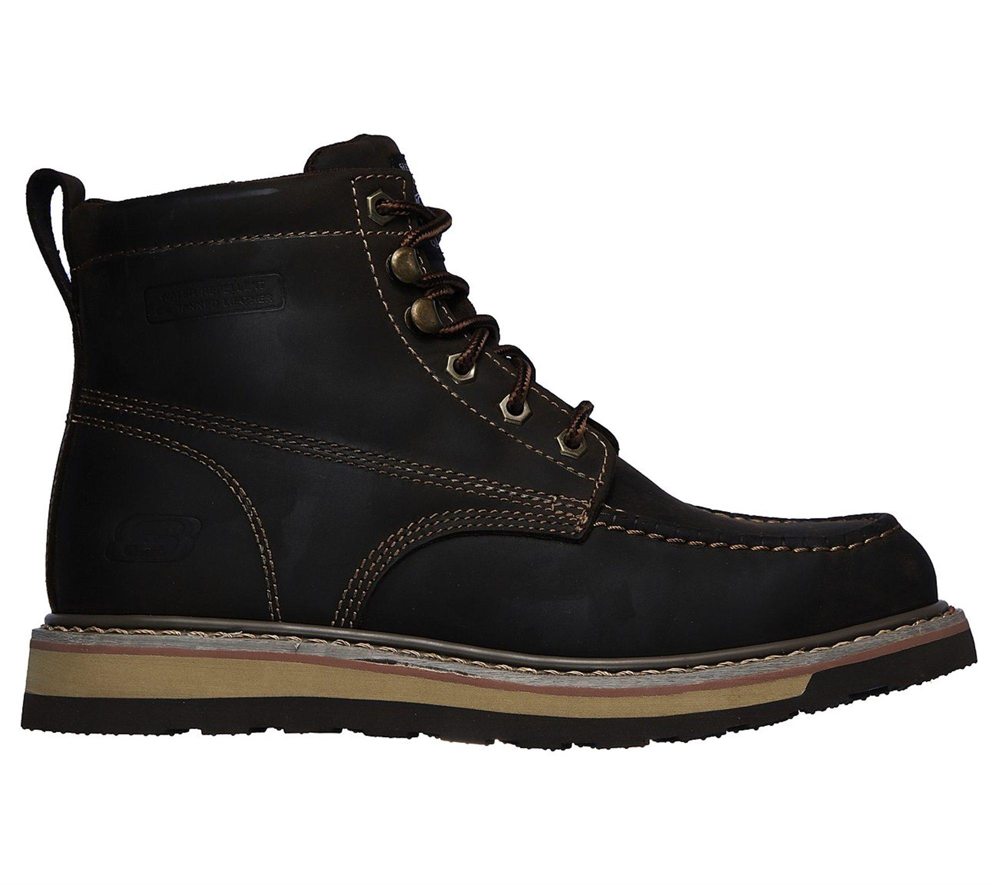 01e2ce873e7 Lyst - Skechers Work Relaxed Fit: Boydton in Brown for Men