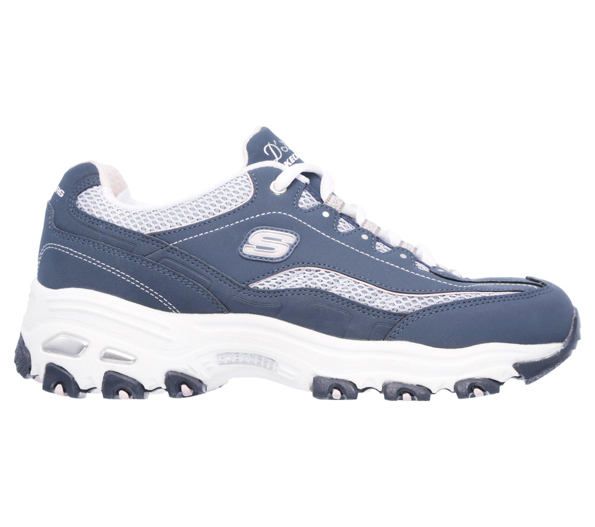 a85a806b5b83 Lyst - Skechers D  lites - Life Saver in Blue