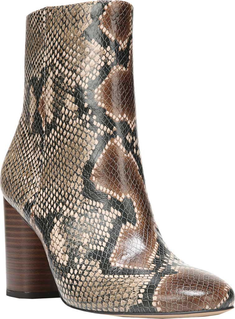 84b655d98a8a Lyst - Sam Edelman Corra Snake Print Booties in Brown