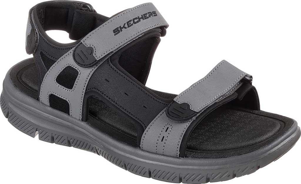c8b24a26d733 Lyst - Skechers Flex Advantage S Upwell Sport Sandal in Black for Men