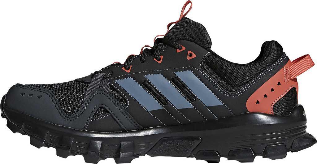 Rockadia Lyst Adidas Trail corriendo zapatilla en negro para hombres