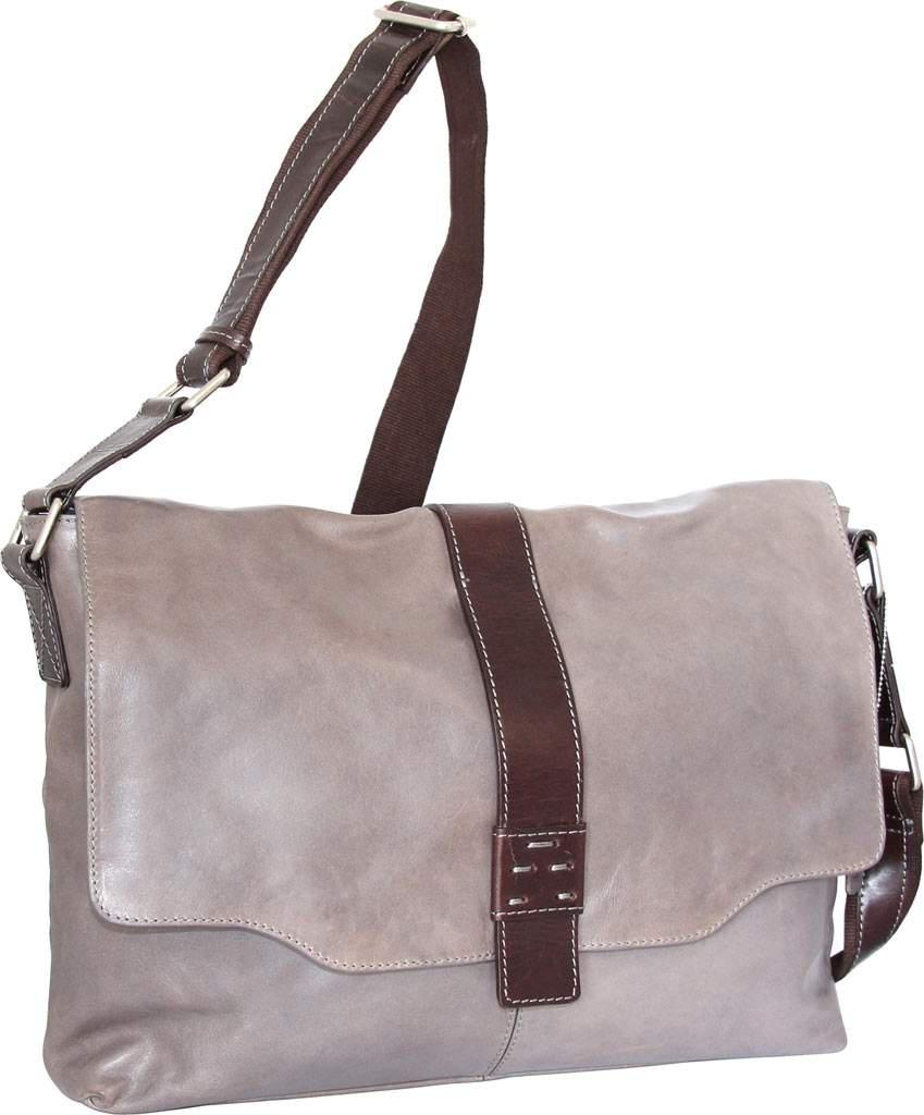 2b8e99c9f3 Lyst - Nino Bossi Lorena Large Leather Messenger Bag for Men